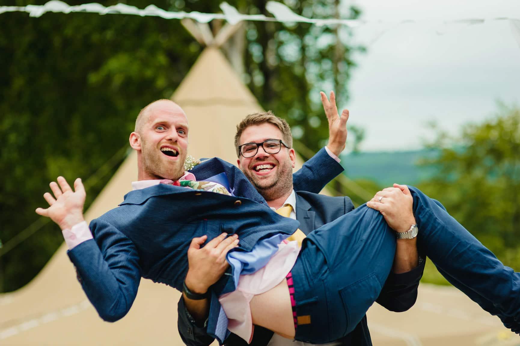 Fforest Wedding, Cardigan, Wales - Lauren and Gareth 173