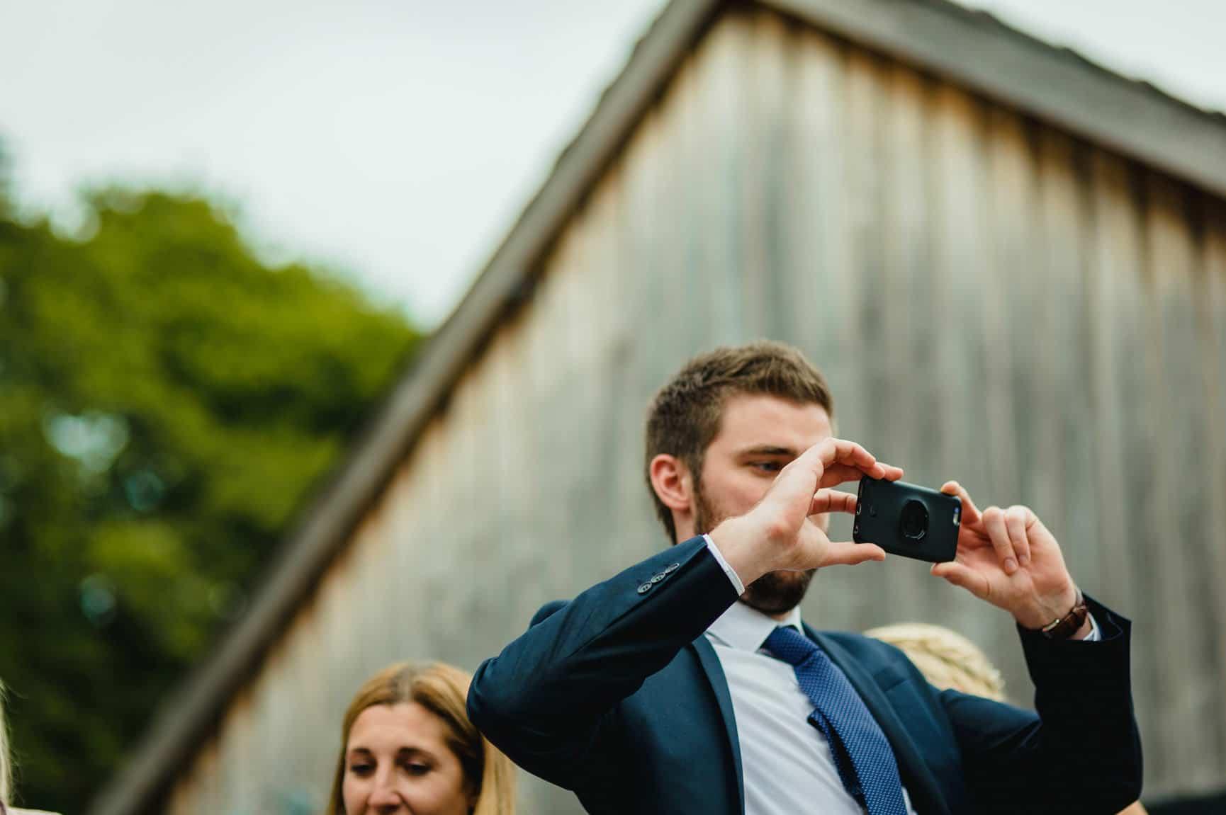 Fforest Wedding, Cardigan, Wales - Lauren and Gareth 157