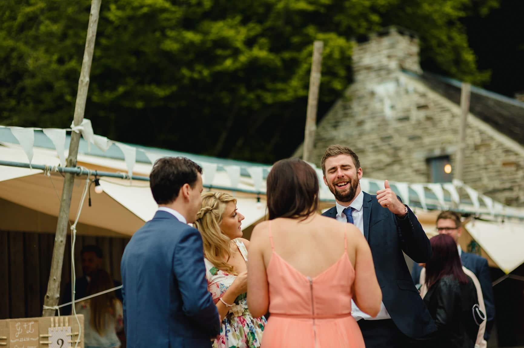 Fforest Wedding, Cardigan, Wales - Lauren and Gareth 199
