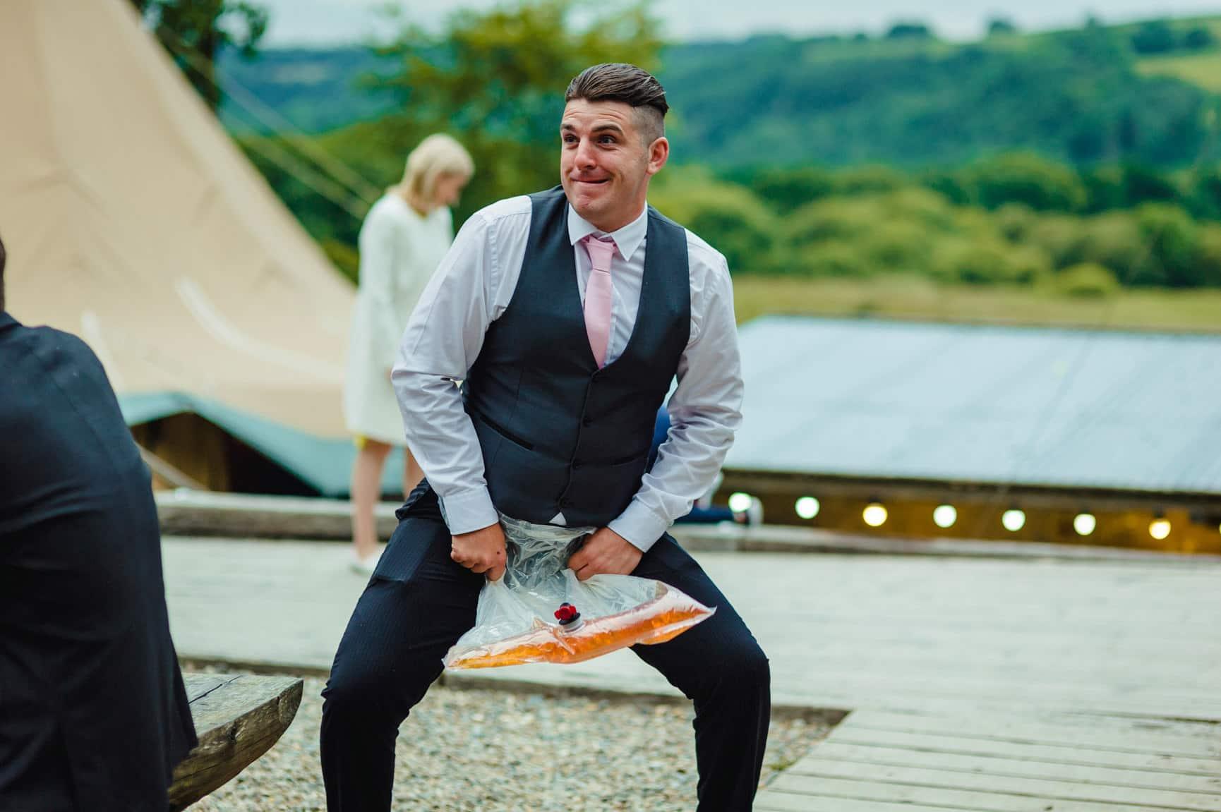 Fforest Wedding, Cardigan, Wales - Lauren and Gareth 188