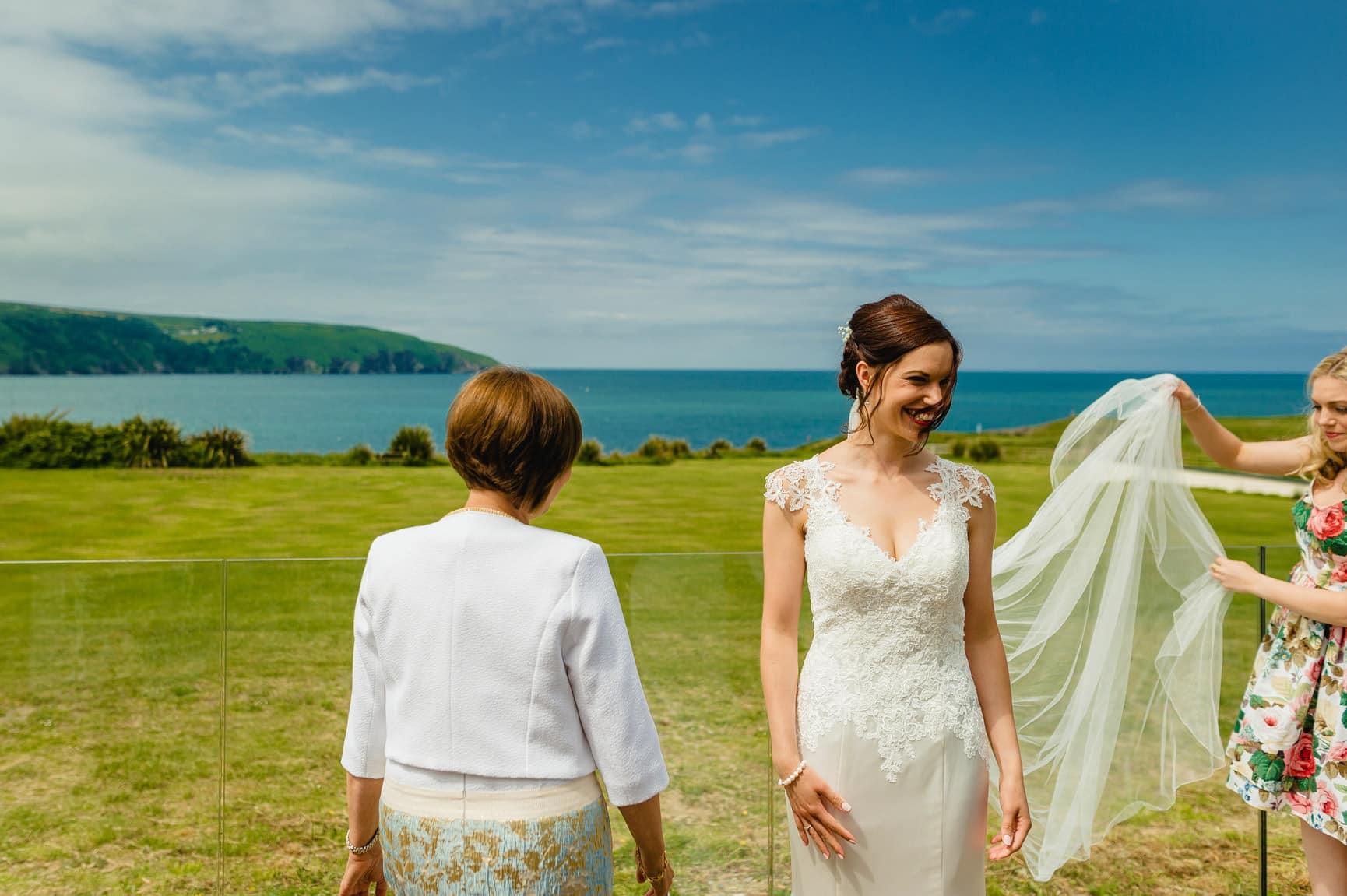 Fforest Wedding, Cardigan, Wales - Lauren and Gareth 40