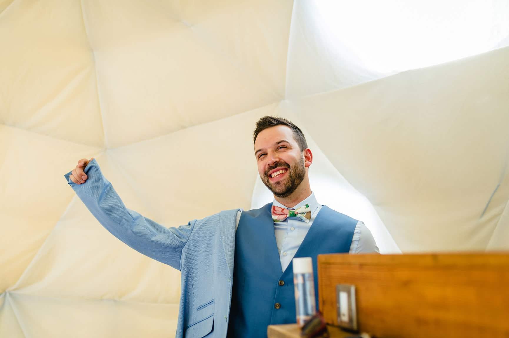 Fforest Wedding, Cardigan, Wales - Lauren and Gareth 22