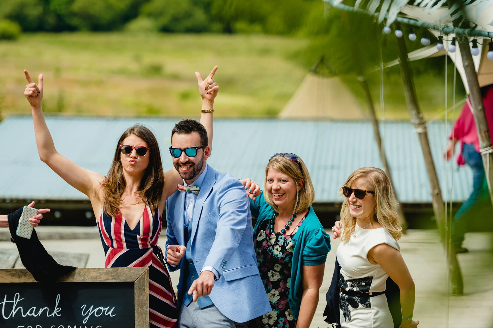 Fforest Wedding, Cardigan, Wales - Lauren and Gareth 42