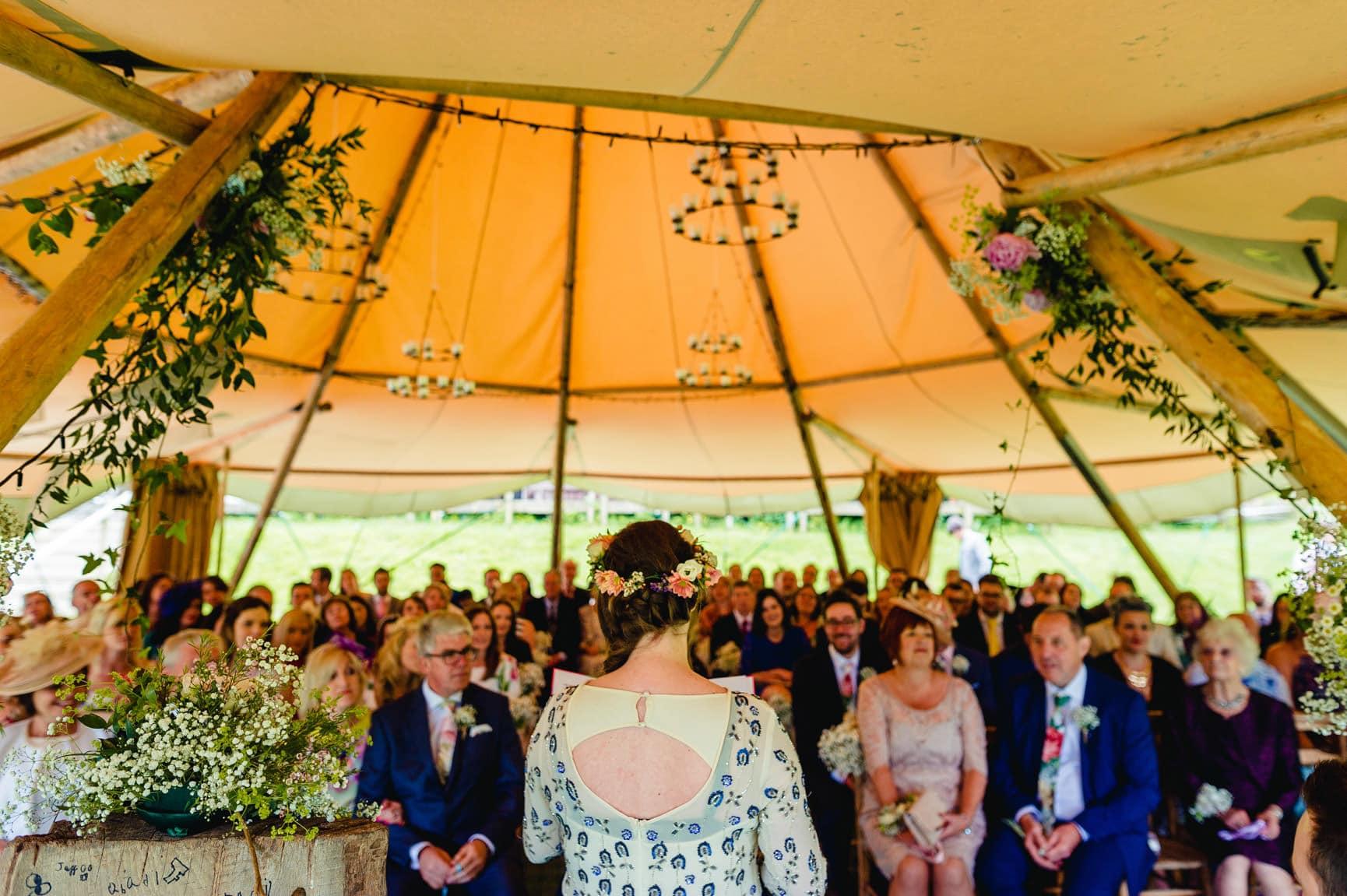 Fforest Wedding, Cardigan, Wales - Lauren and Gareth 61