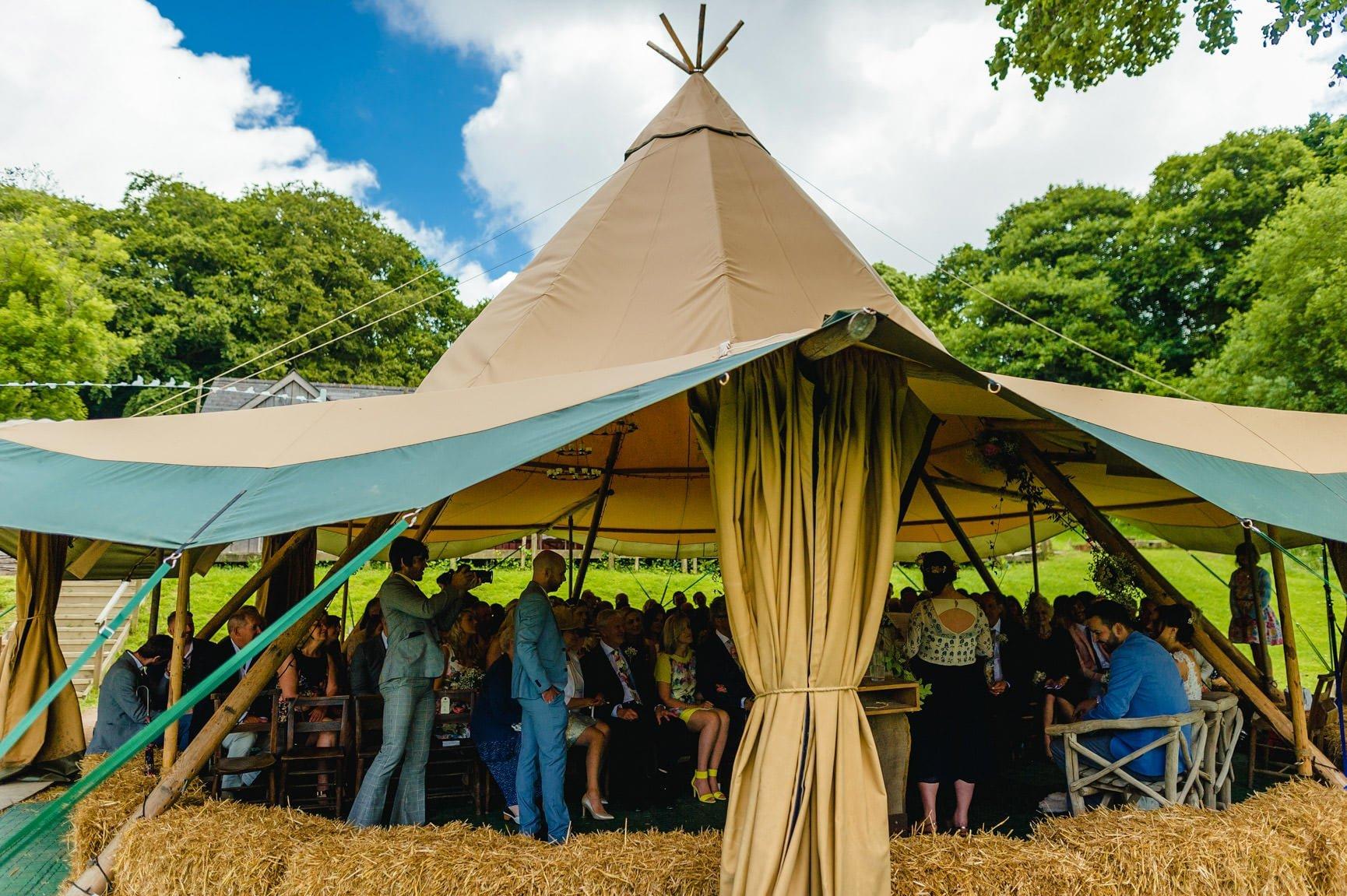 Fforest Wedding, Cardigan, Wales - Lauren and Gareth 64