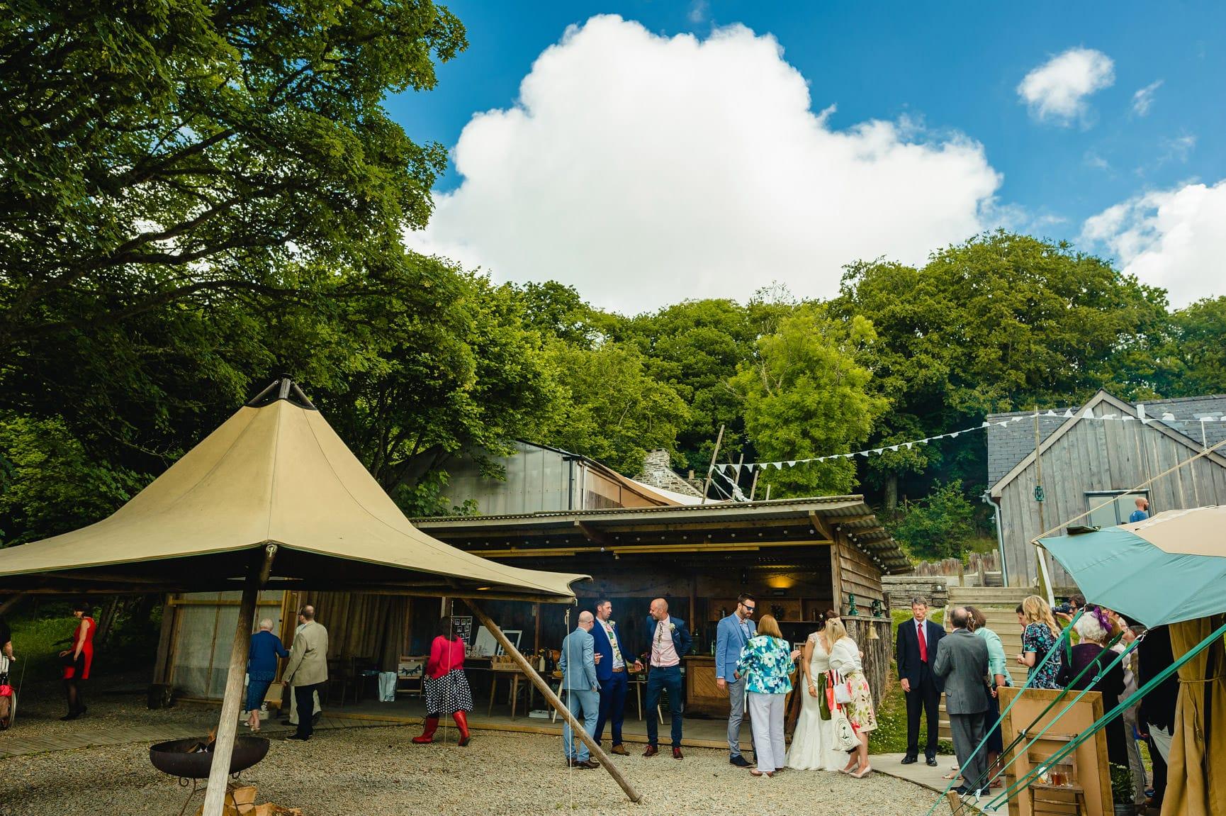 Fforest Wedding, Cardigan, Wales - Lauren and Gareth 78