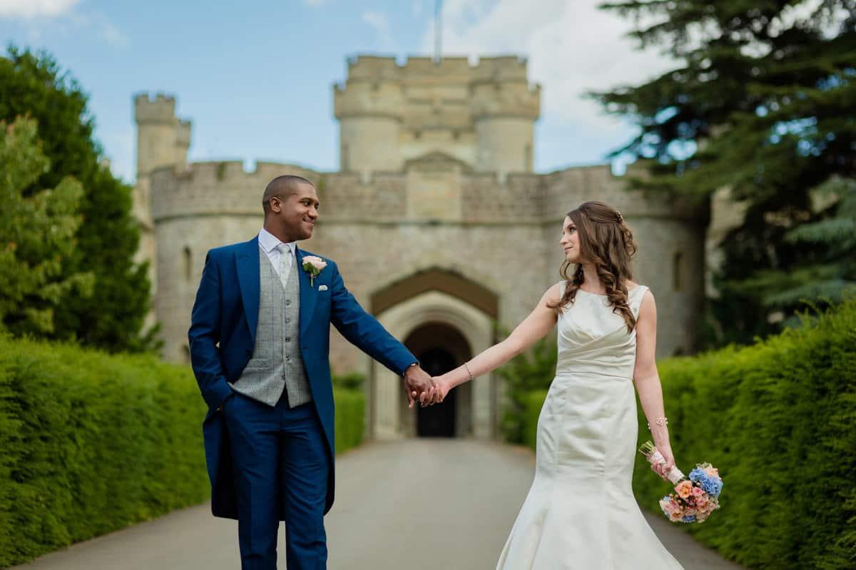 Eastnor Castle wedding in Herefordshire, West Midlands - Helen + Barrington 86