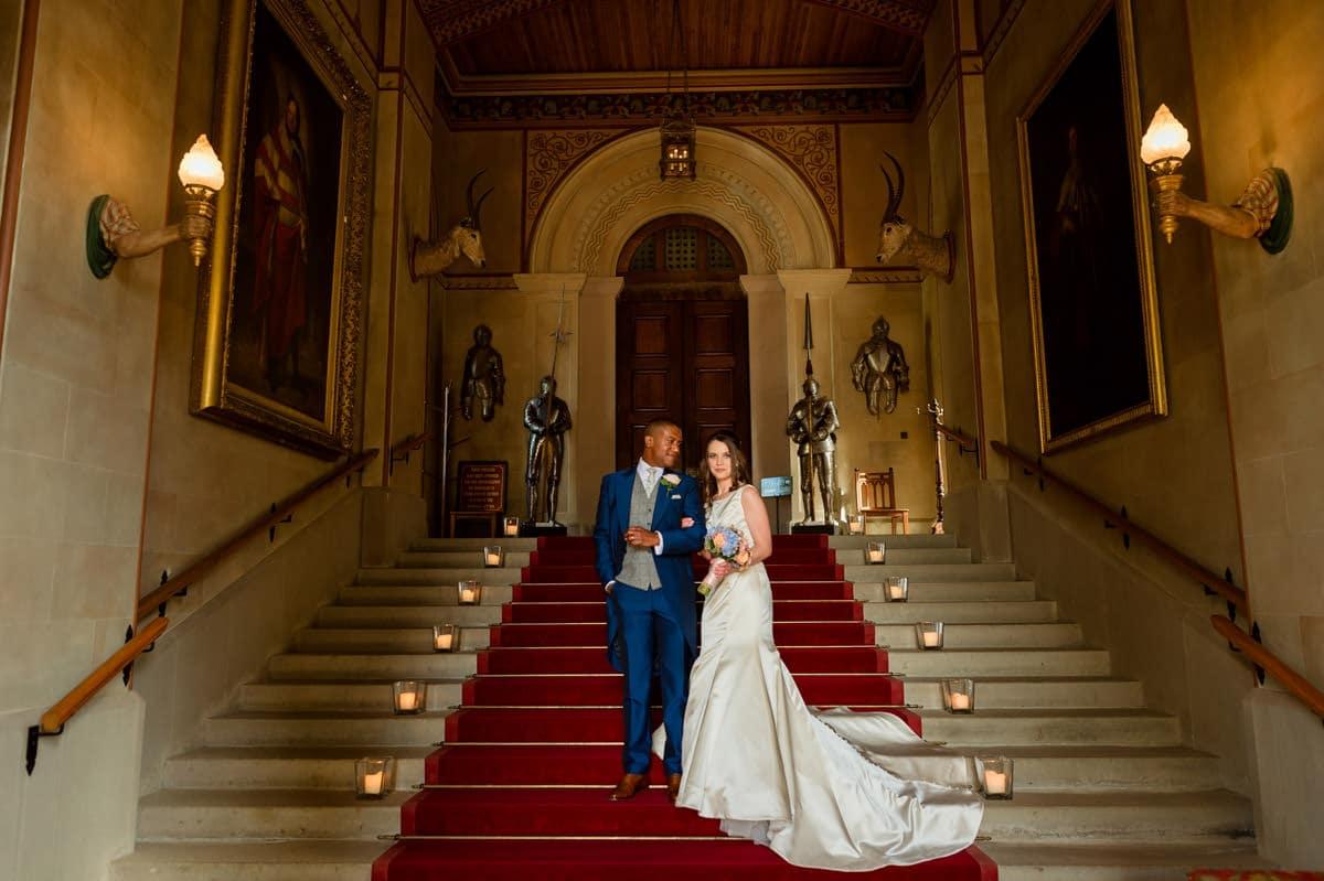 Eastnor Castle wedding in Herefordshire, West Midlands - Helen + Barrington 105