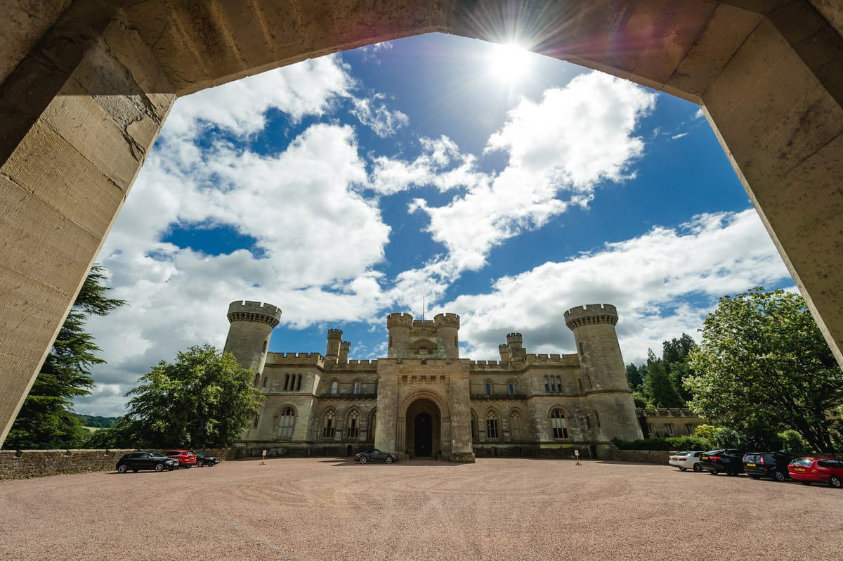 Eastnor Castle wedding in Herefordshire, West Midlands - Helen + Barrington 1