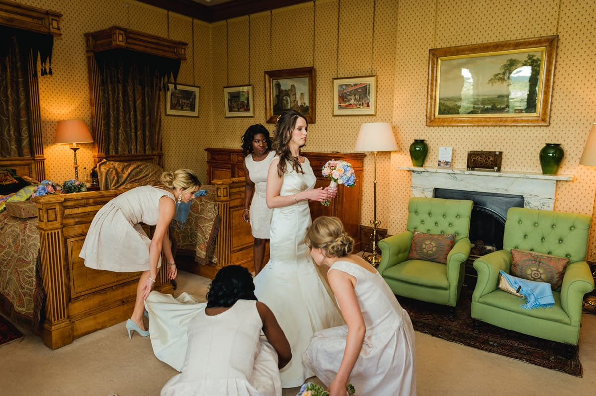 Eastnor Castle wedding in Herefordshire, West Midlands - Helen + Barrington 42