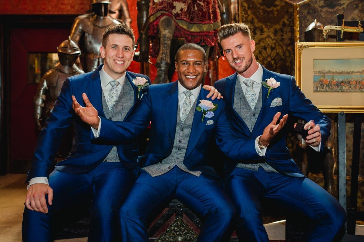 Eastnor Castle wedding in Herefordshire, West Midlands - Helen + Barrington 33
