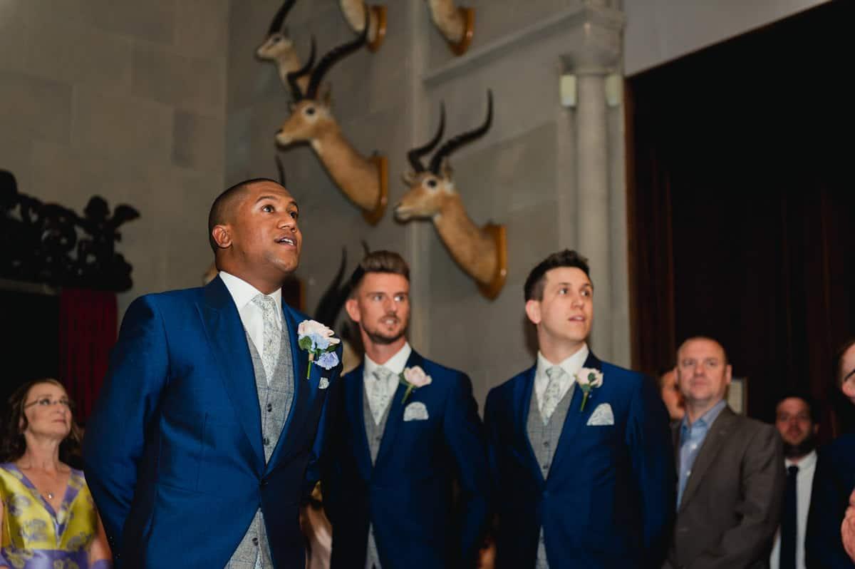 Eastnor Castle wedding in Herefordshire, West Midlands - Helen + Barrington 44