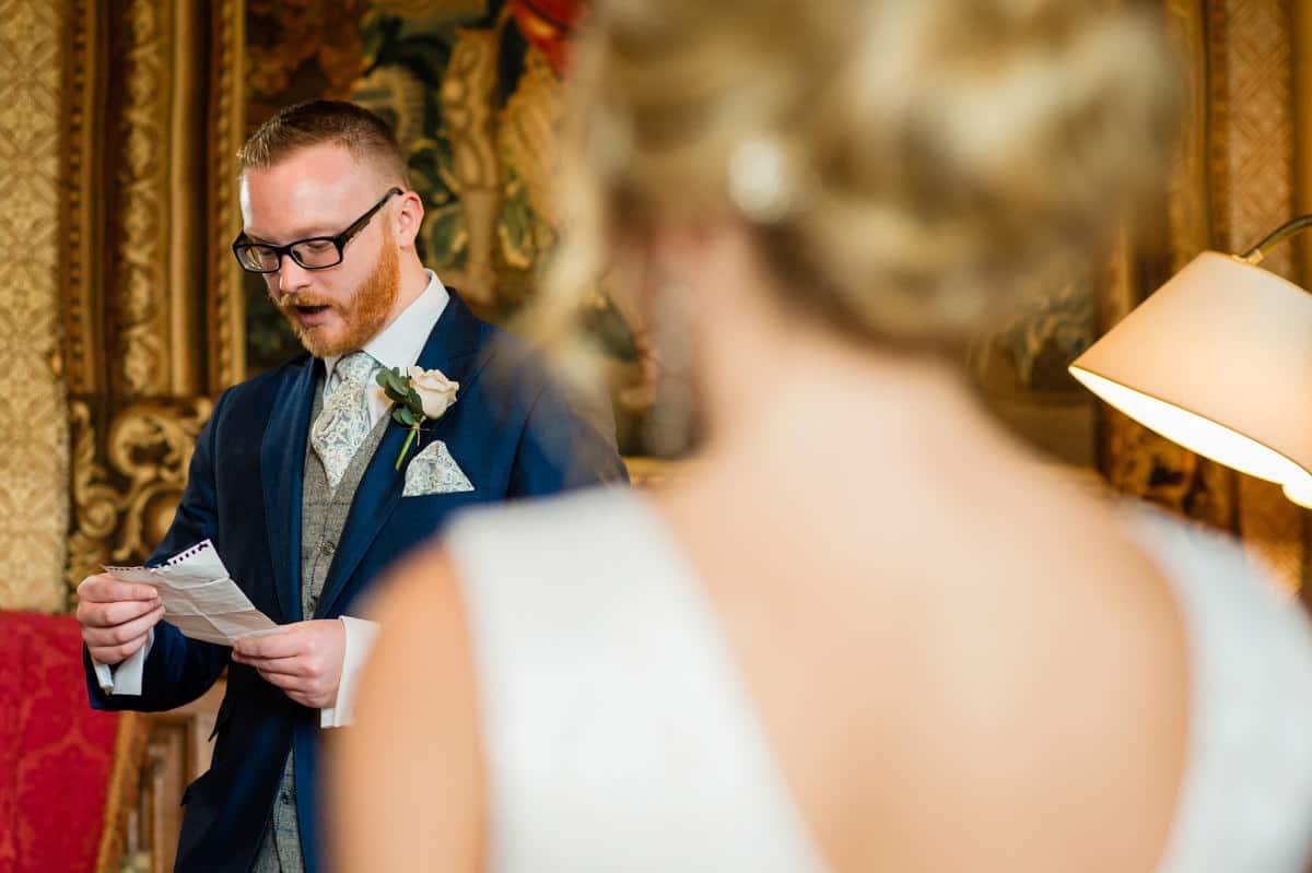 Eastnor Castle wedding in Herefordshire, West Midlands - Helen + Barrington 56