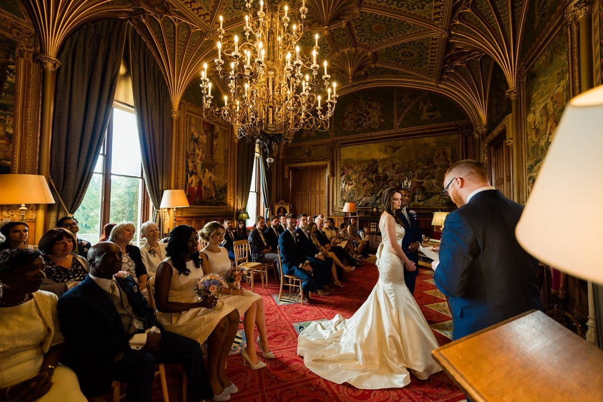 Eastnor Castle wedding in Herefordshire, West Midlands - Helen + Barrington 57