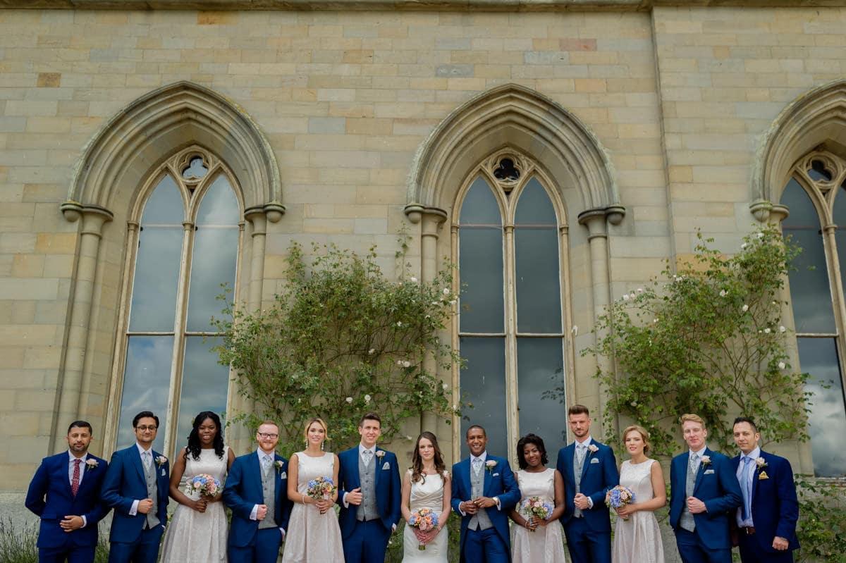 Eastnor Castle wedding in Herefordshire, West Midlands - Helen + Barrington 88