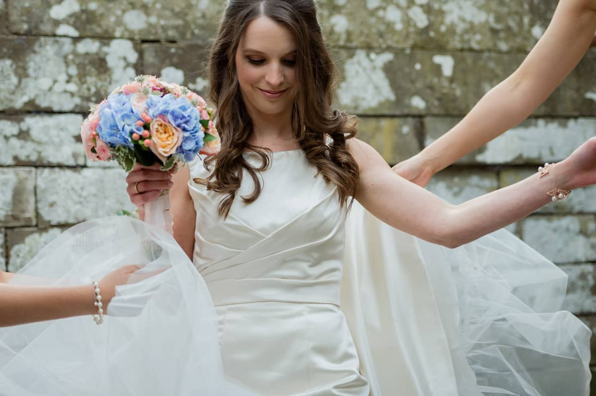 Eastnor Castle wedding in Herefordshire, West Midlands - Helen + Barrington 85