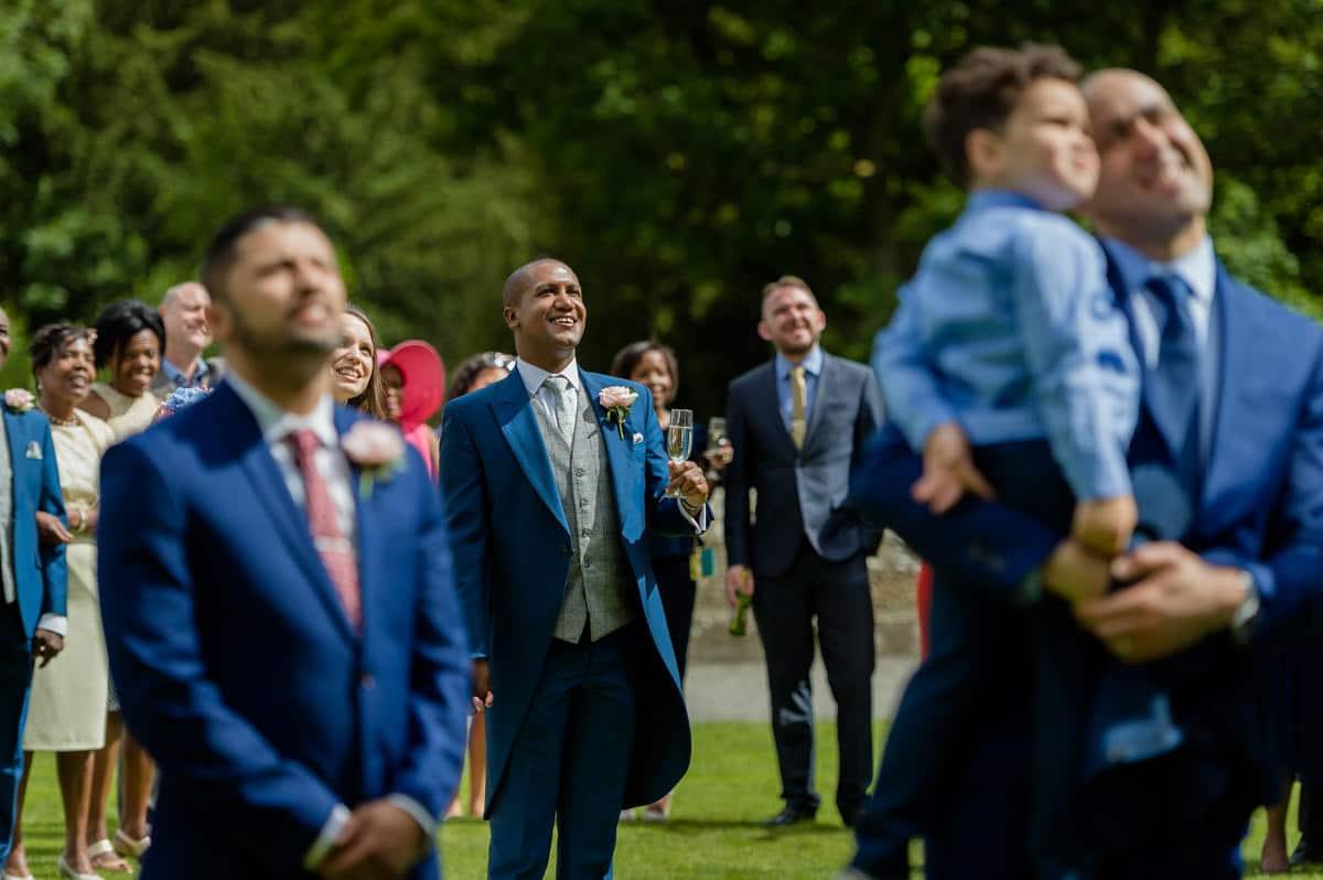 Eastnor Castle wedding in Herefordshire, West Midlands - Helen + Barrington 89