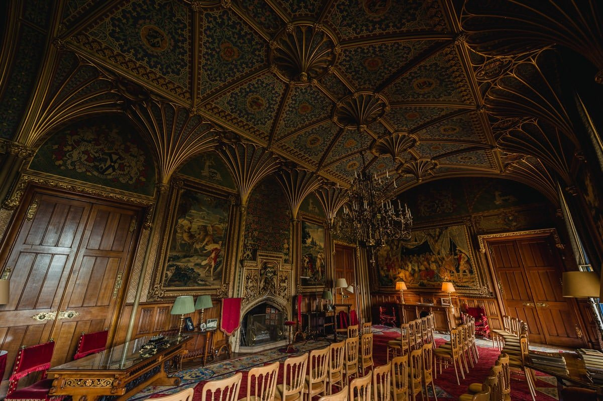 Eastnor Castle wedding in Herefordshire, West Midlands - Helen + Barrington 19