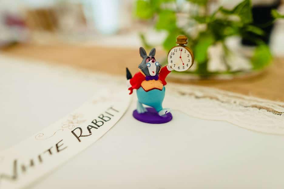 Alice in Wonderland wedding - Katie + Ben 48