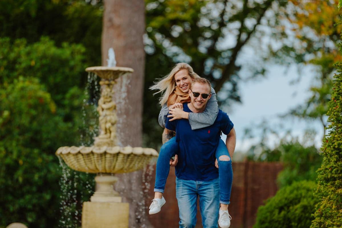 Sadie + Ken's pre wedding photography at Lemore Manor in Herefordshire, West Midlands 6