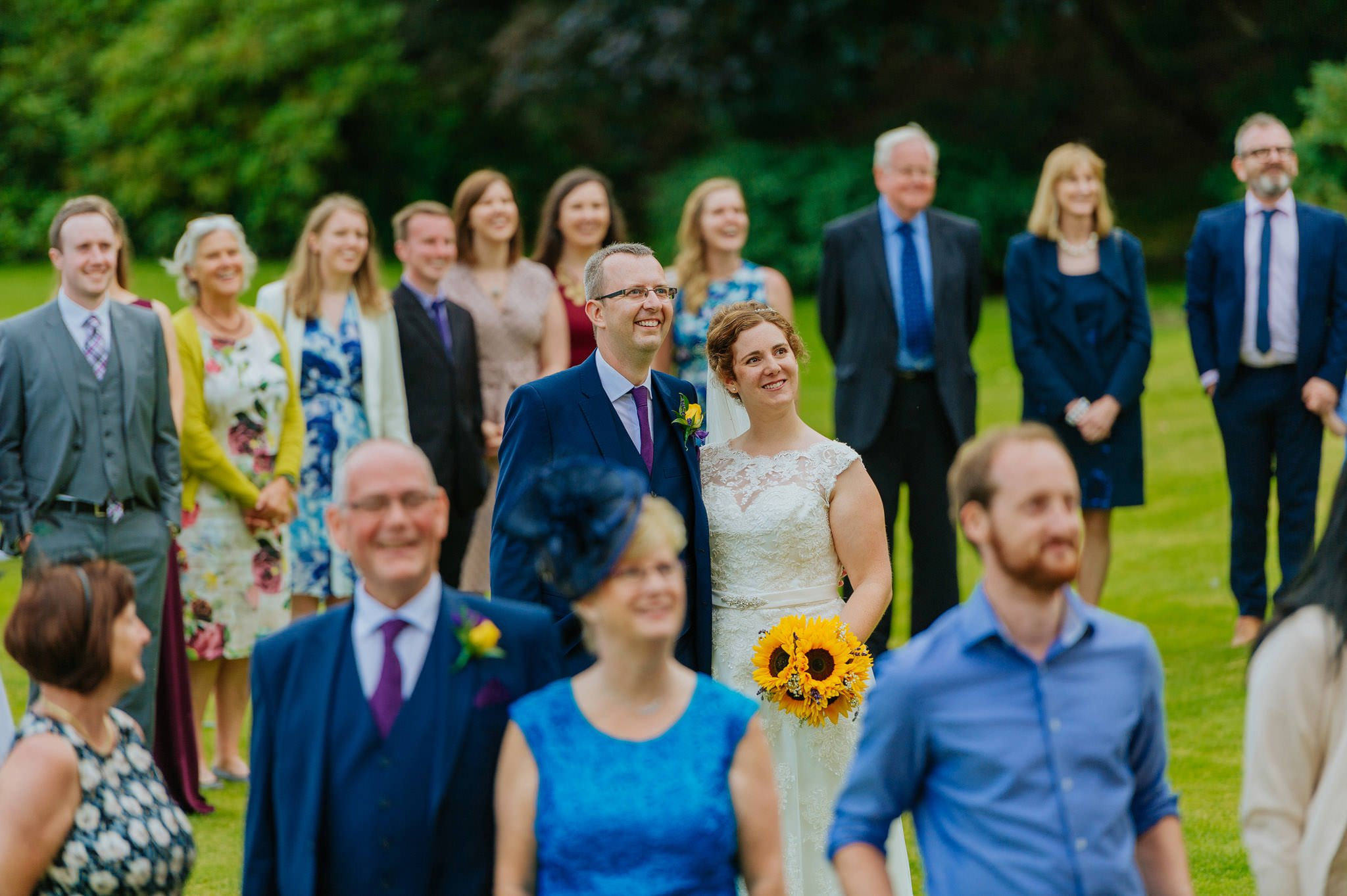 Wedding photography at Homme House in Herefordshire, West Midlands 78