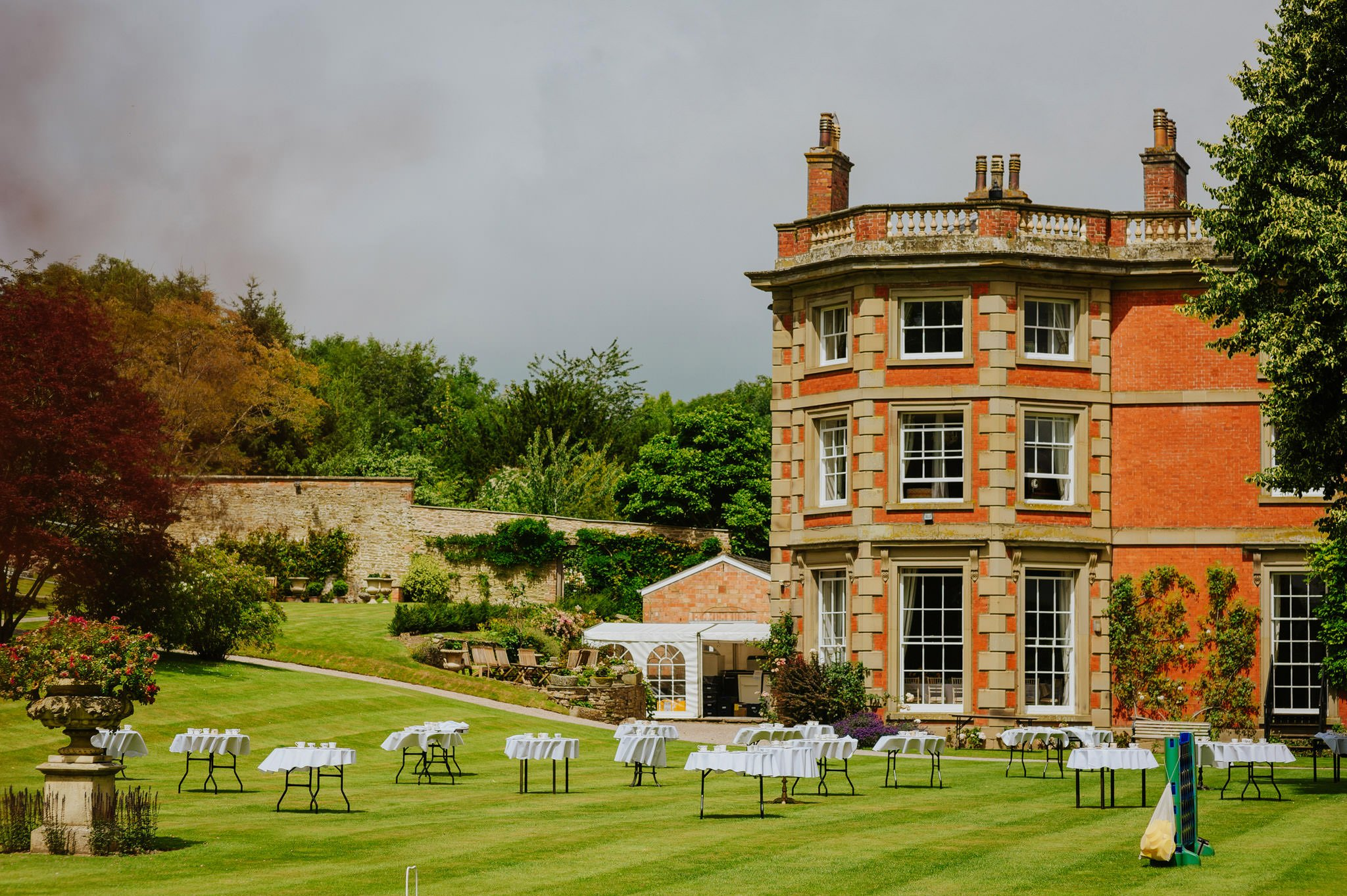 Wedding photography at Homme House in Herefordshire, West Midlands 21