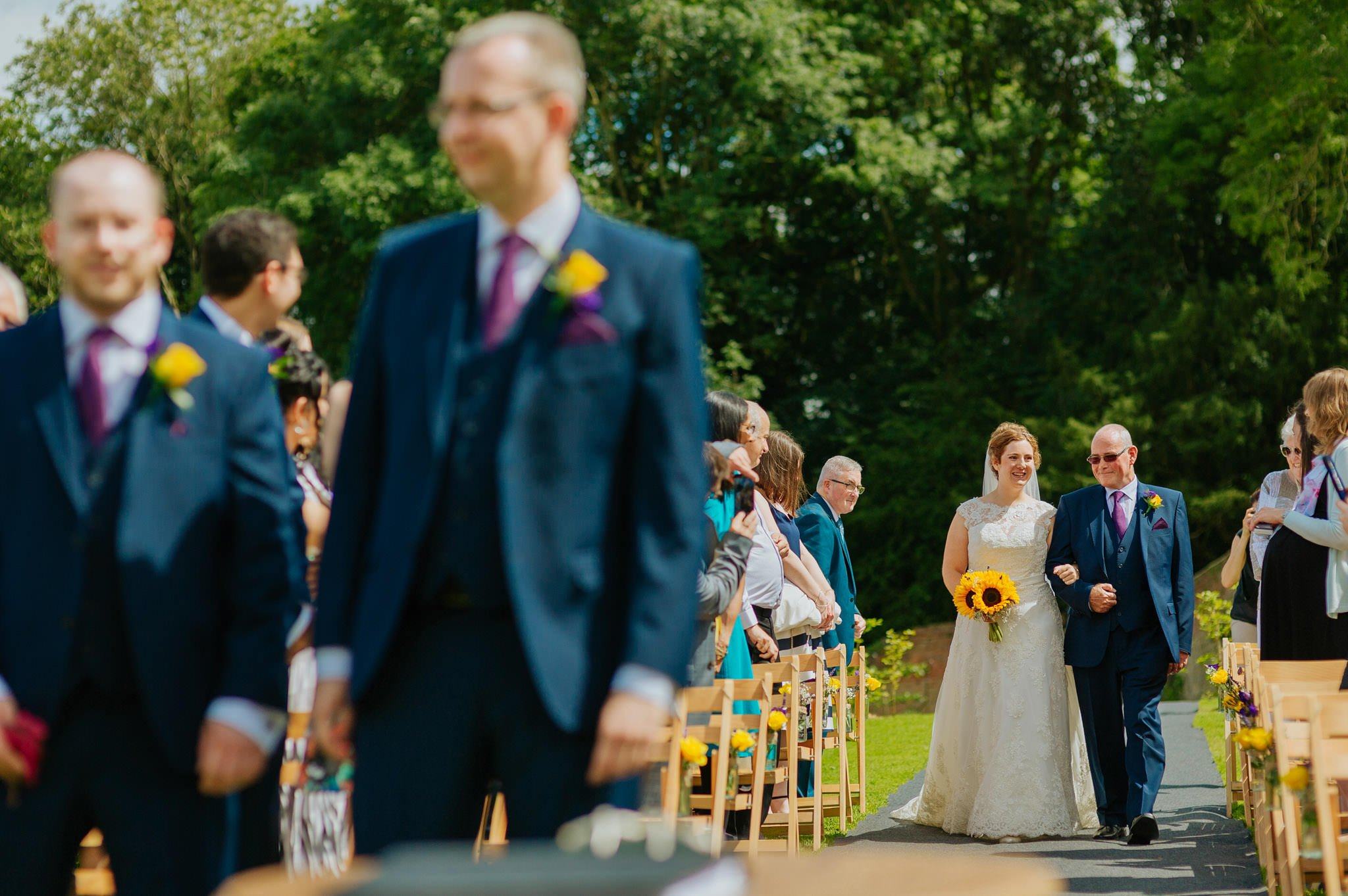 Wedding photography at Homme House in Herefordshire, West Midlands 26