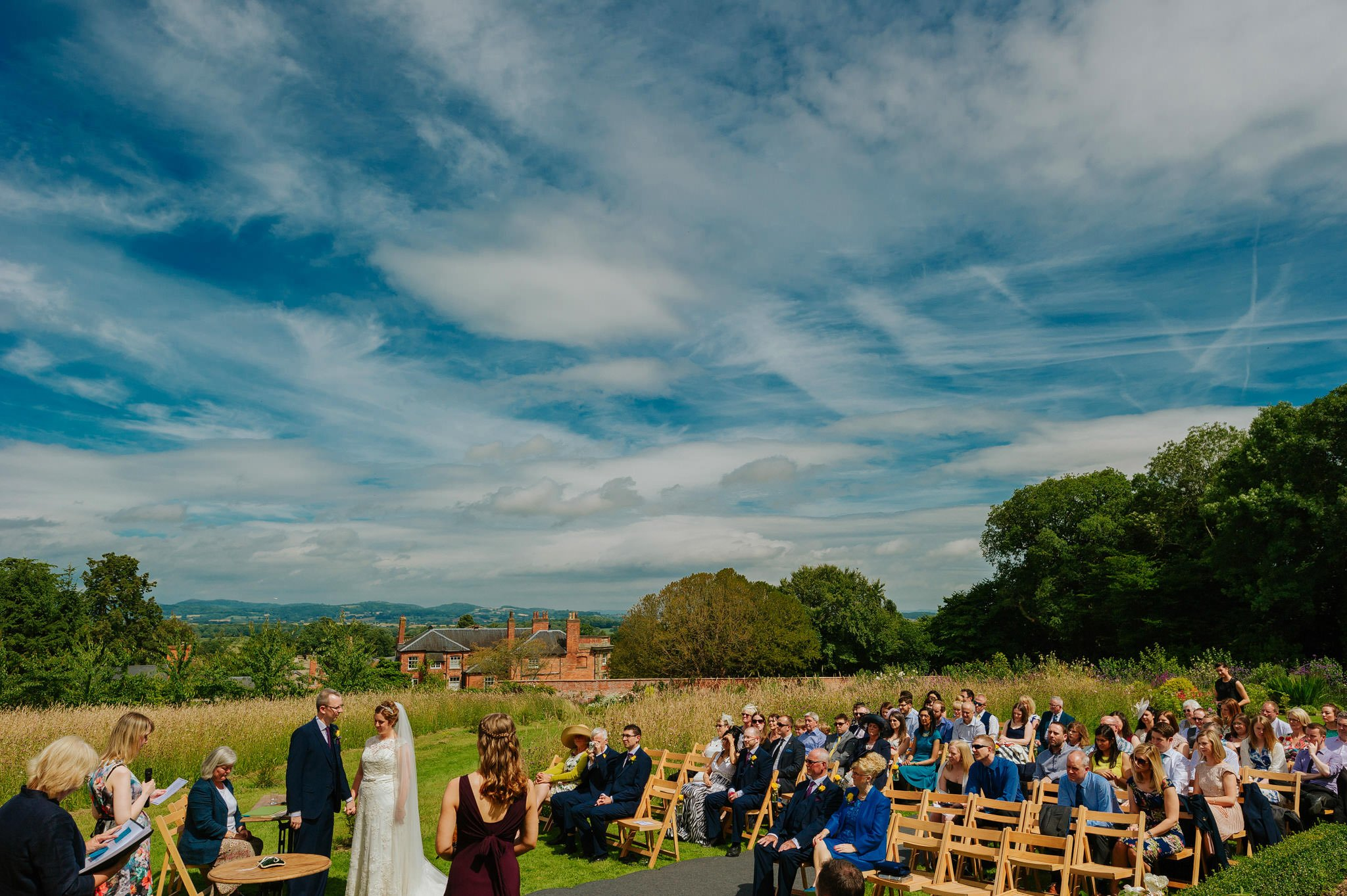 Wedding photography at Homme House in Herefordshire, West Midlands 33