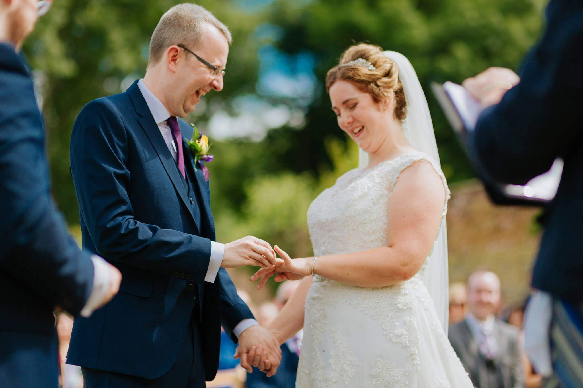 Wedding photography at Homme House in Herefordshire, West Midlands 34