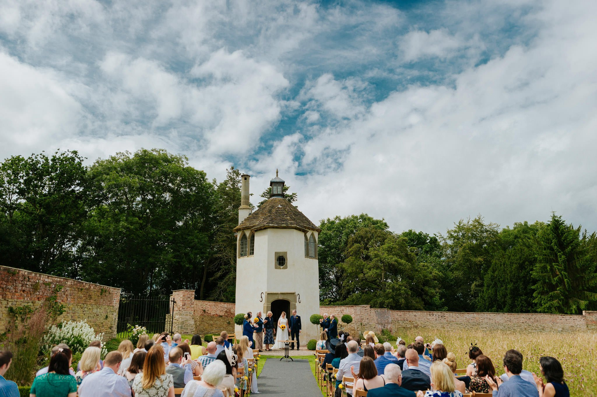Wedding photography at Homme House in Herefordshire, West Midlands 36