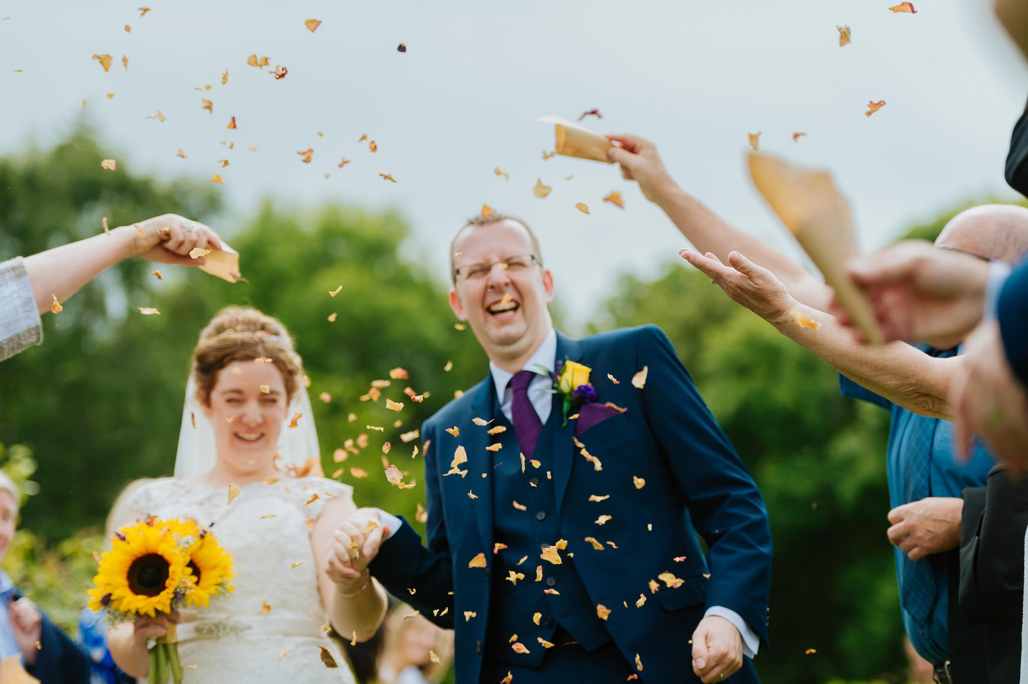 Wedding photography at Homme House in Herefordshire, West Midlands 40