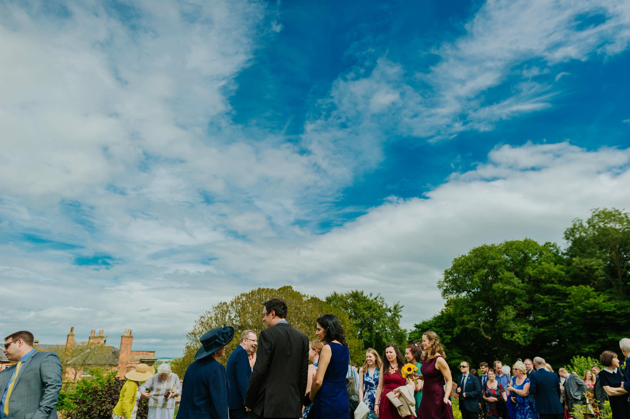 Wedding photography at Homme House in Herefordshire, West Midlands 42