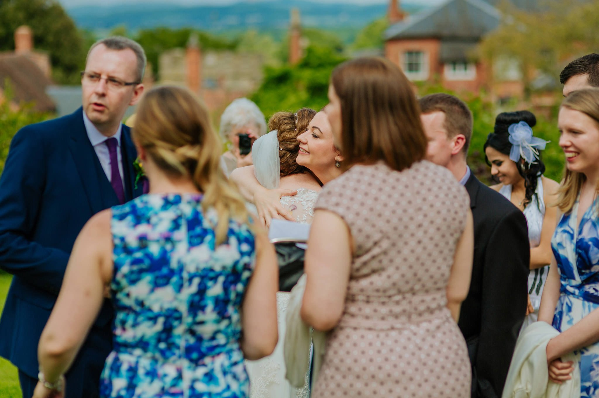 Wedding photography at Homme House in Herefordshire, West Midlands 43