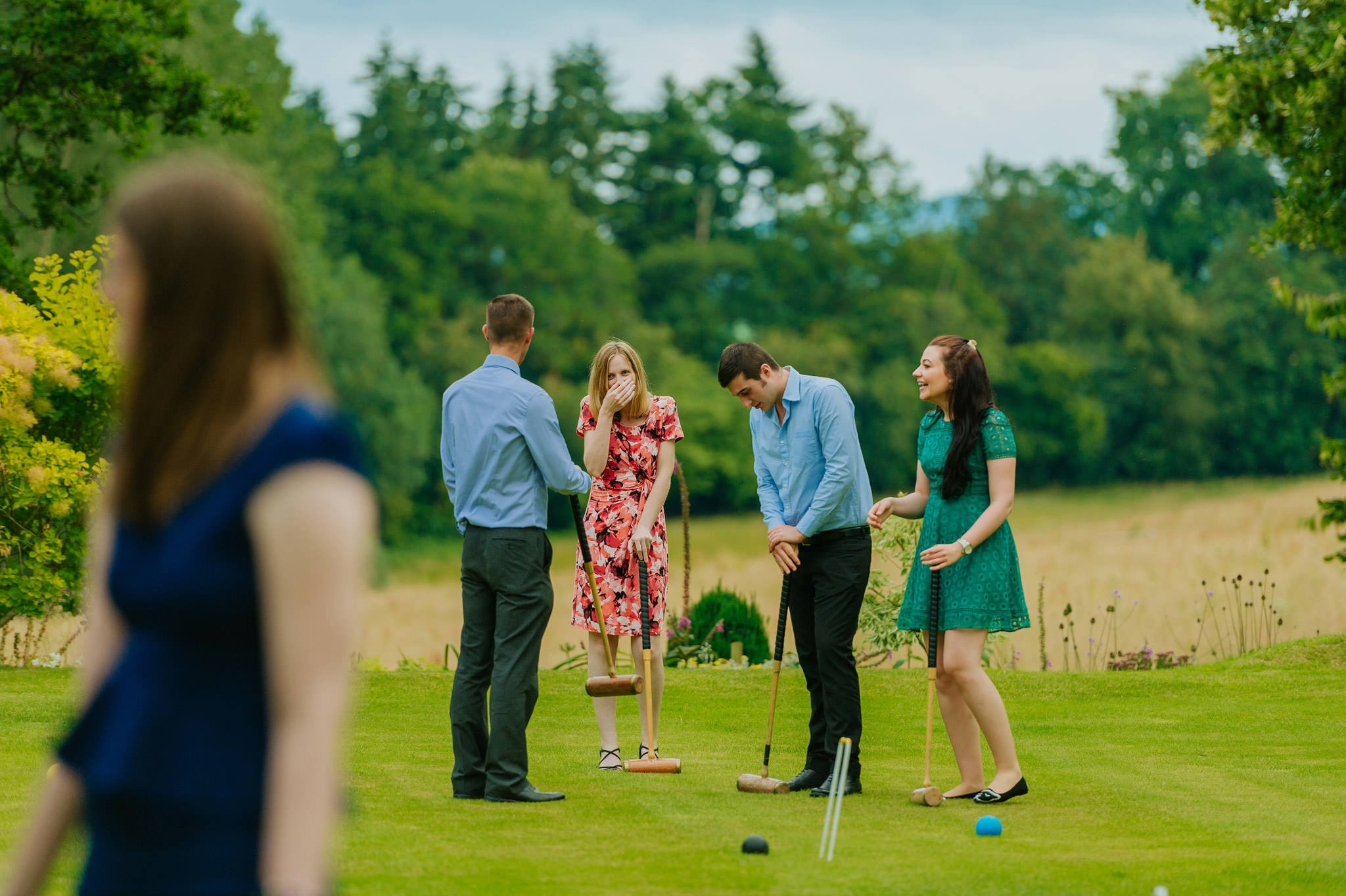Wedding photography at Homme House in Herefordshire, West Midlands 60
