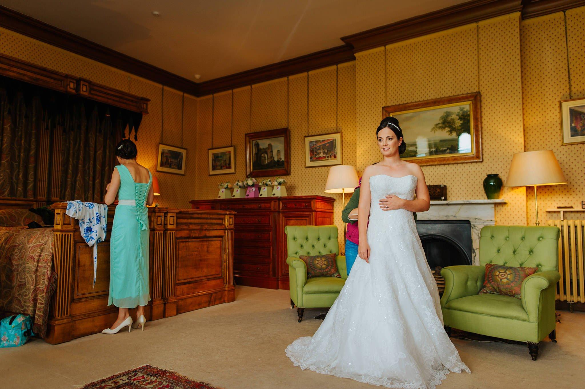 Eastnor Castle wedding photographer Herefordshire, West Midlands - Sarah + Dean 12