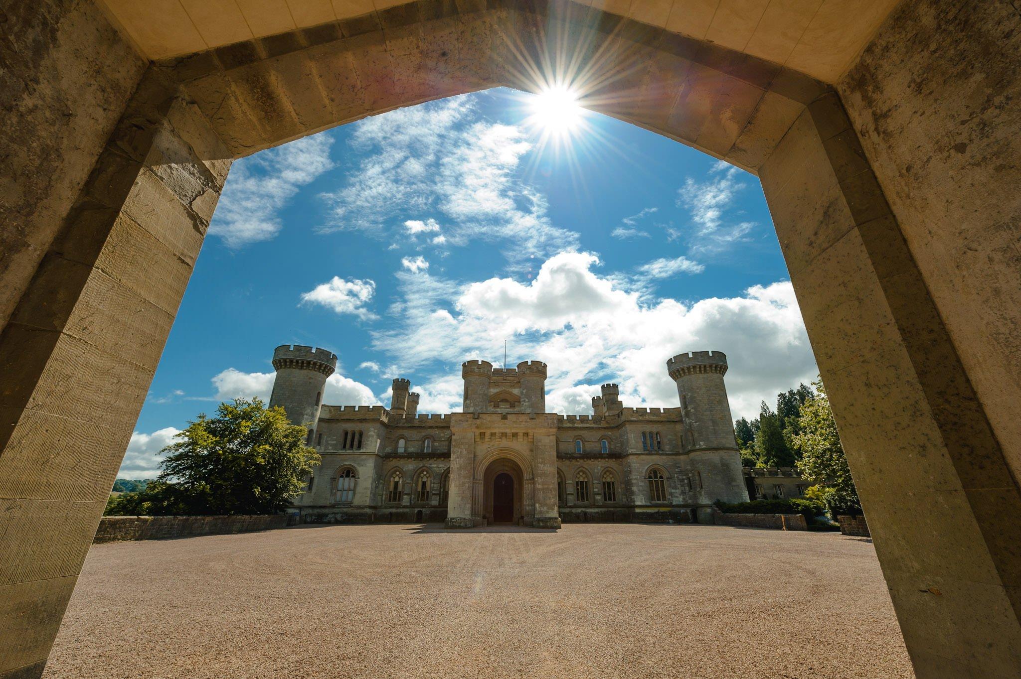Eastnor Castle wedding photographer Herefordshire, West Midlands - Sarah + Dean 14