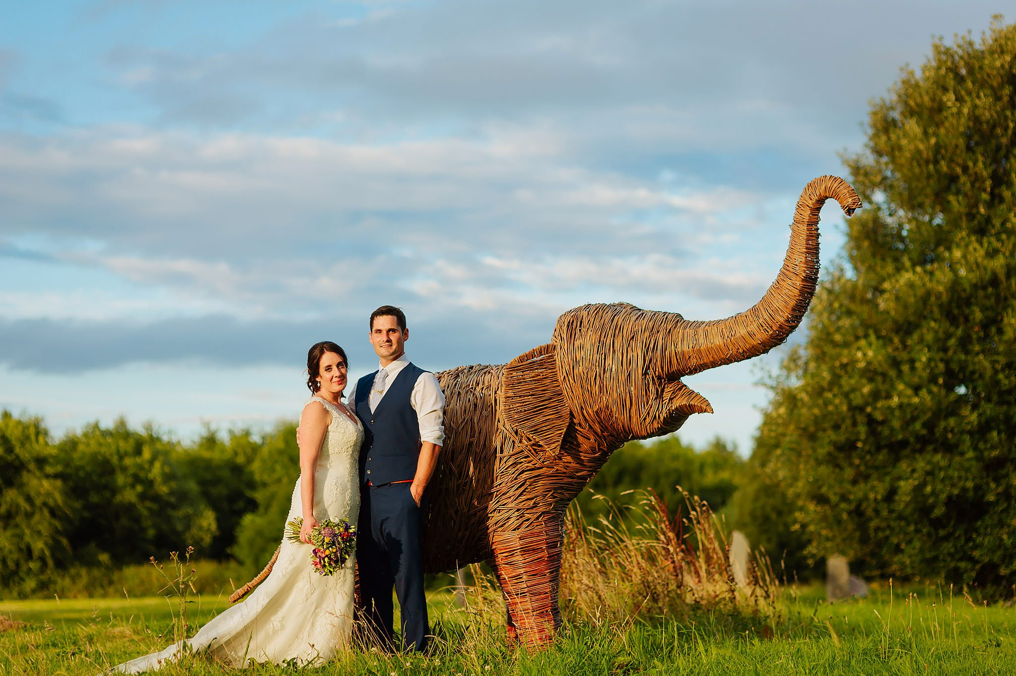 Wedding photography at Hellens Manor in Herefordshire, West Midlands | Shelley + Ian 123