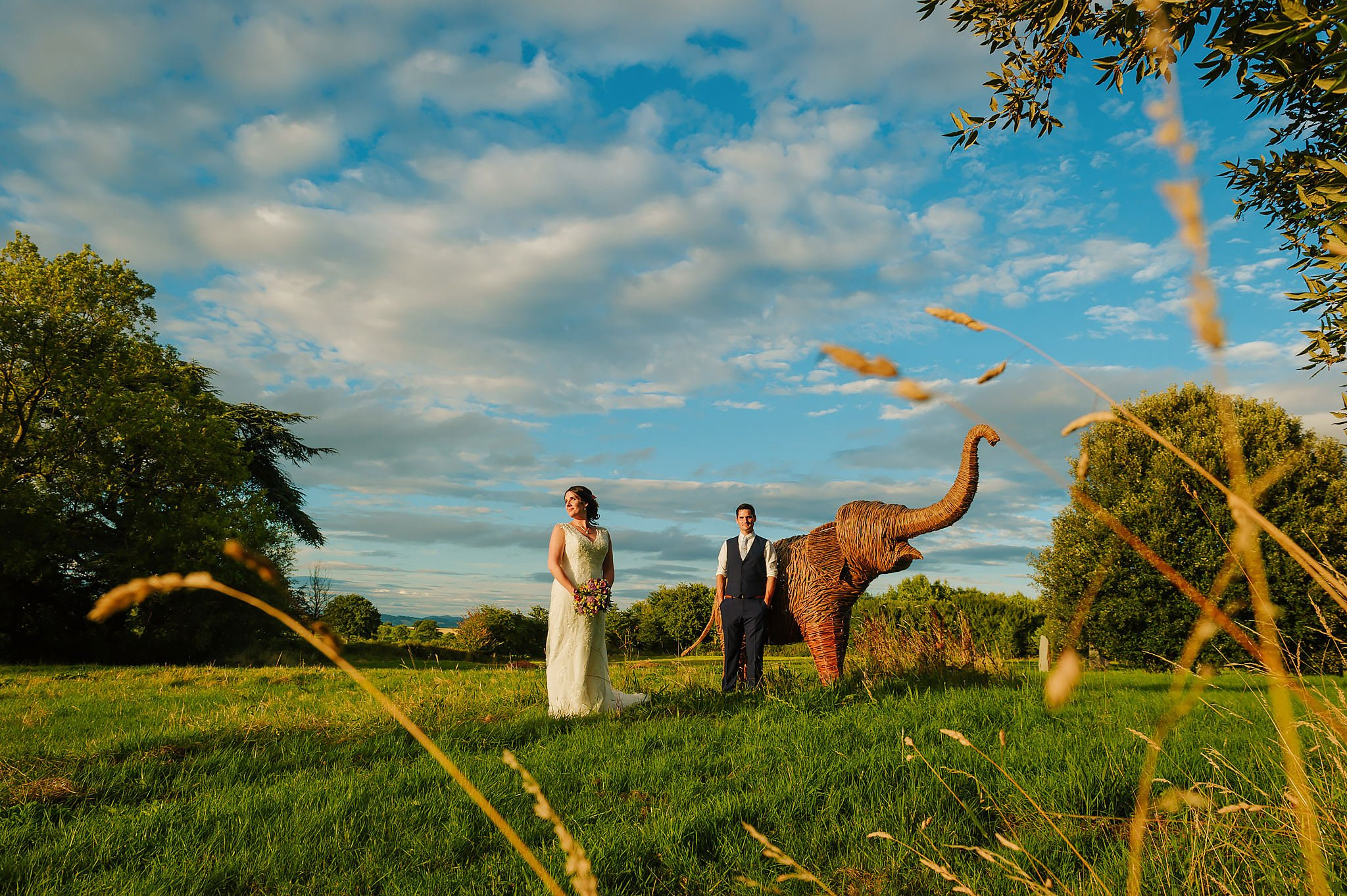Wedding photography at Hellens Manor in Herefordshire, West Midlands | Shelley + Ian 41
