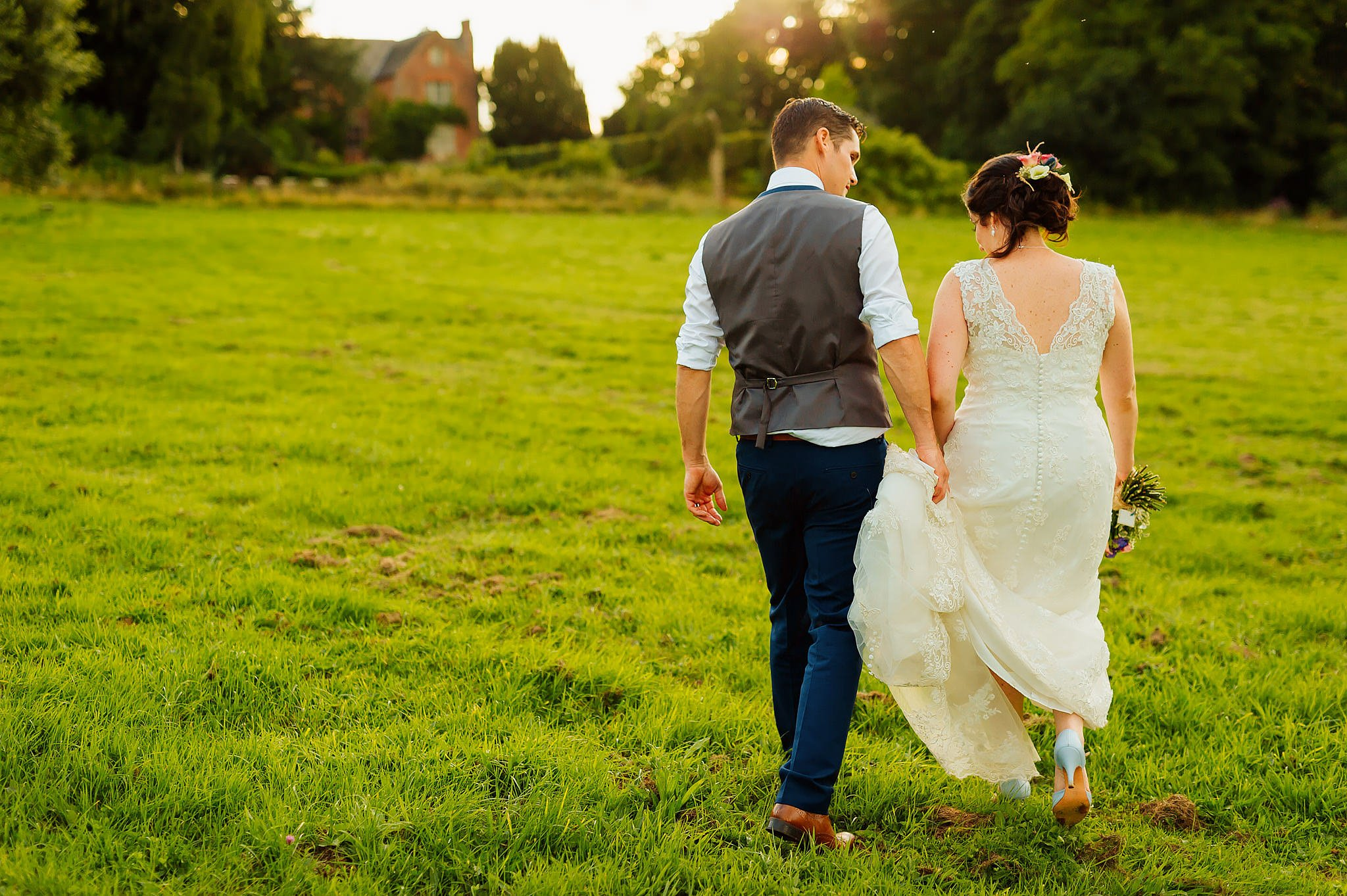 Wedding photography at Hellens Manor in Herefordshire, West Midlands | Shelley + Ian 138