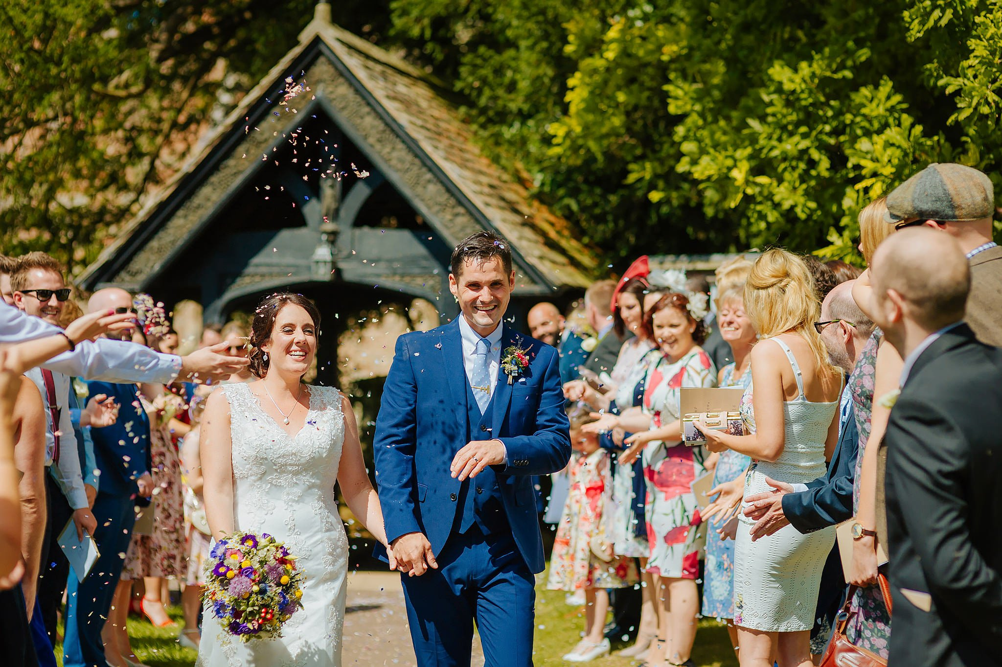 Wedding photography at Hellens Manor in Herefordshire, West Midlands | Shelley + Ian 35