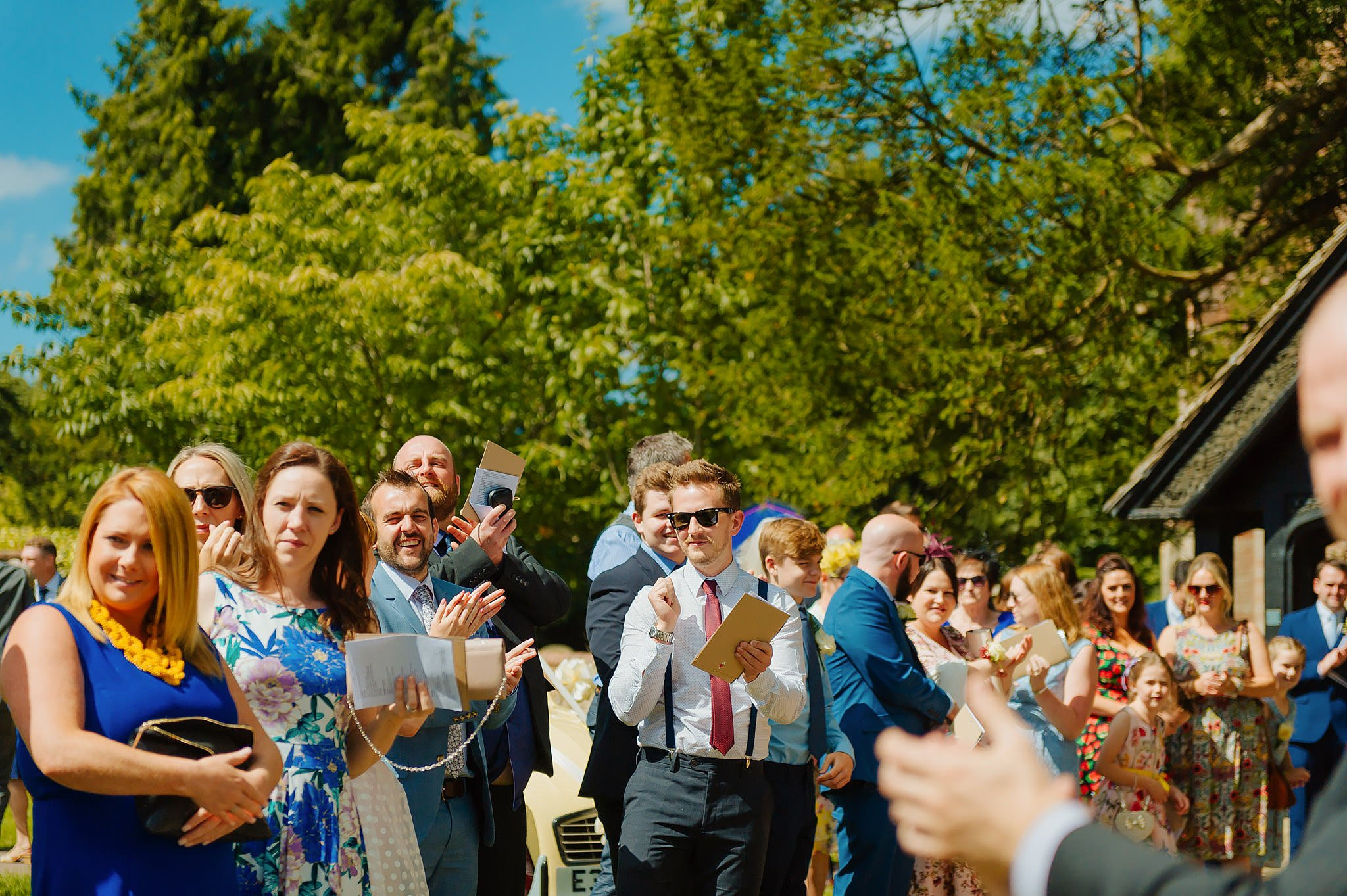 Wedding photography at Hellens Manor in Herefordshire, West Midlands | Shelley + Ian 34
