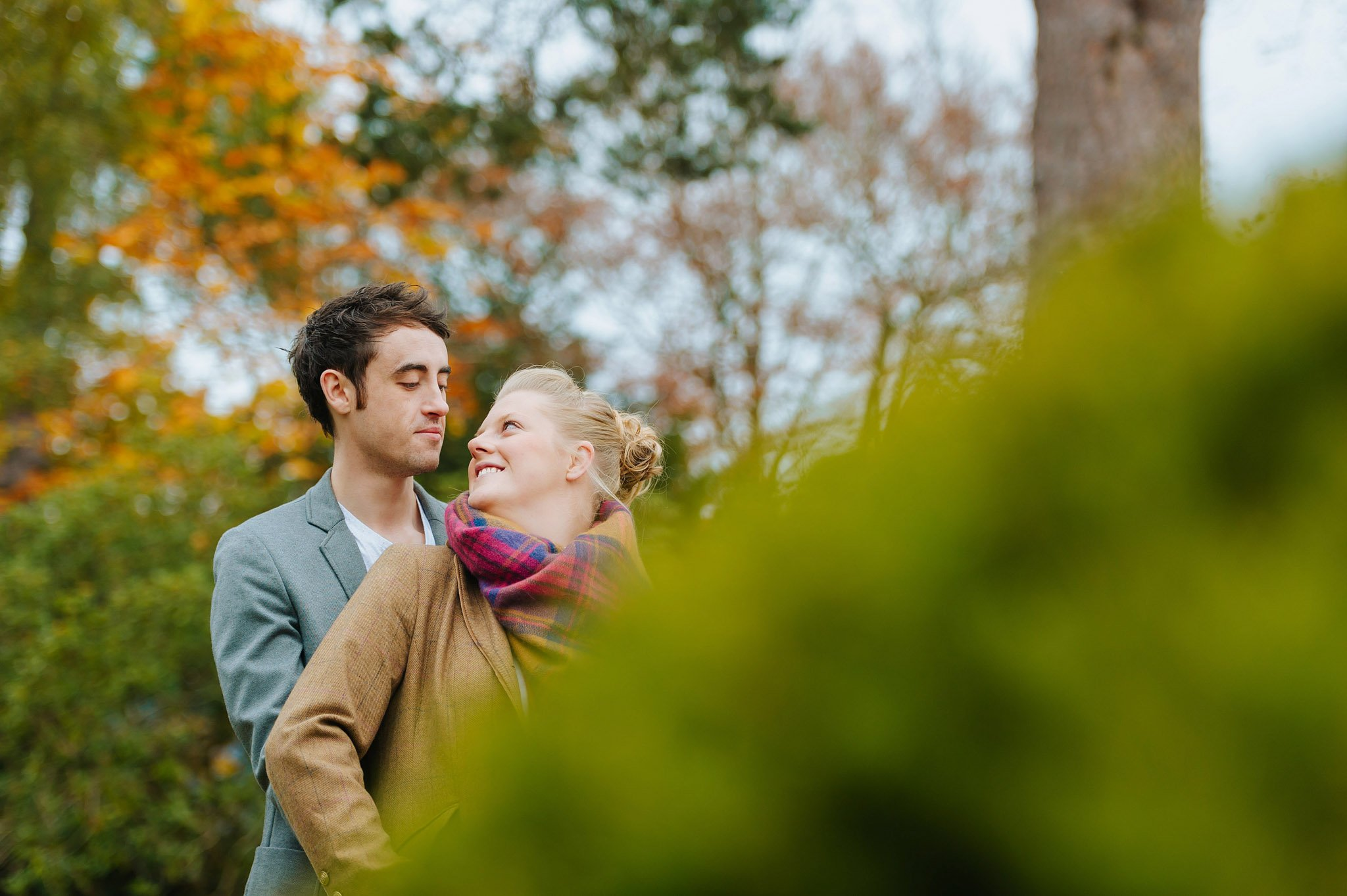 Becky + Marcus | Engagement session in Herefordshire 5