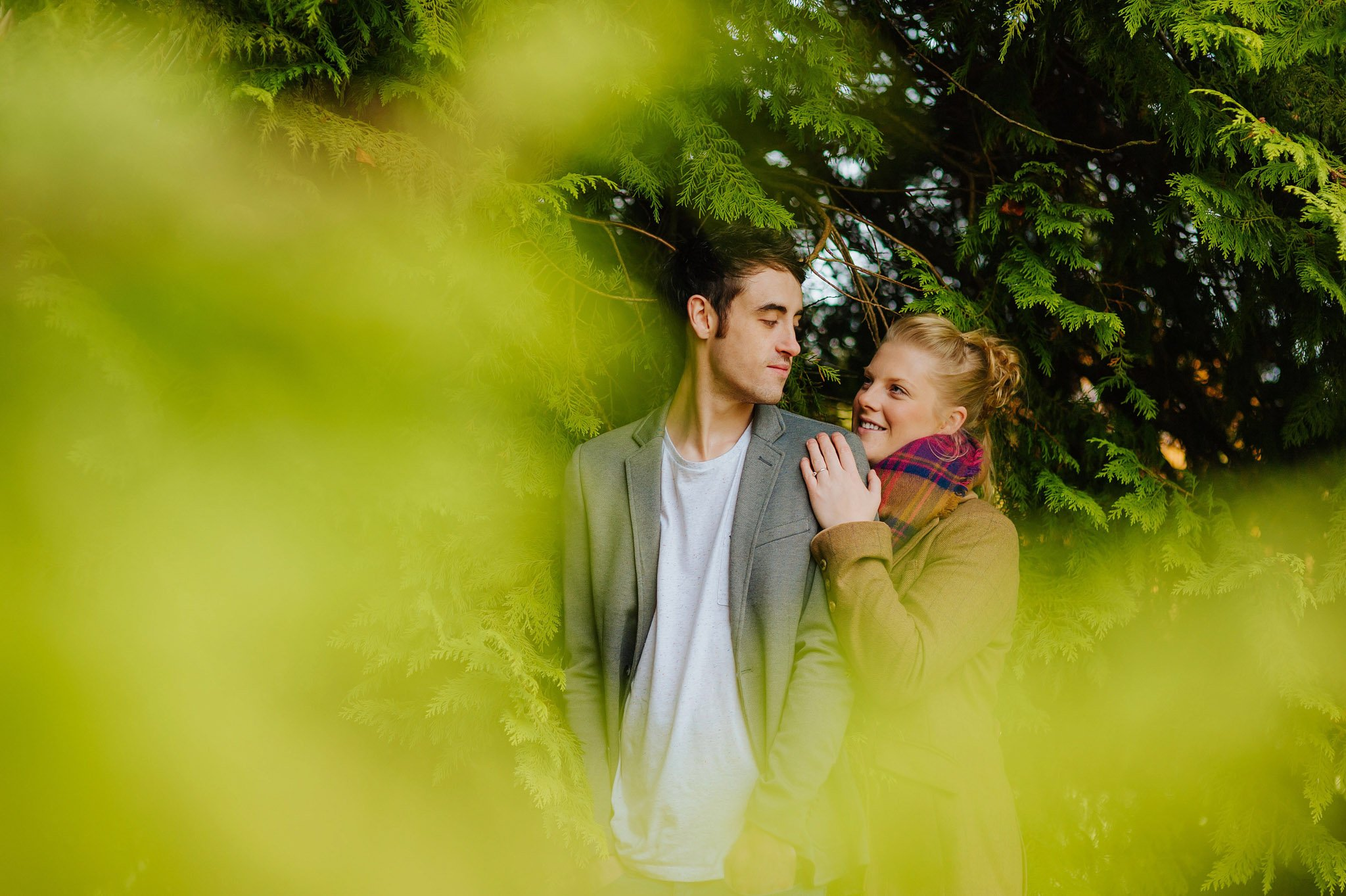 Becky + Marcus | Engagement session in Herefordshire 15