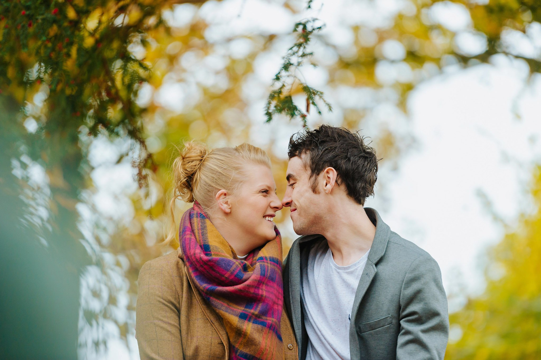 Becky + Marcus | Engagement session in Herefordshire 8