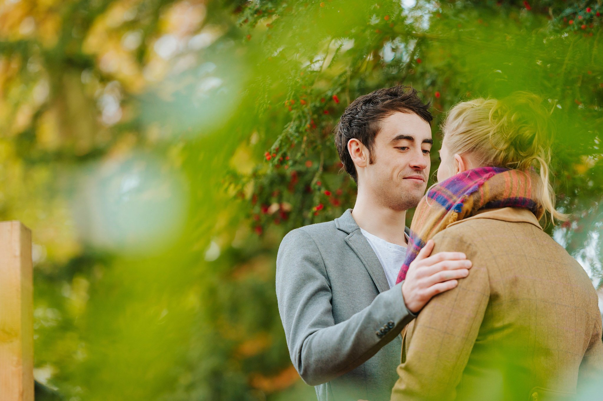 Becky + Marcus | Engagement session in Herefordshire 9