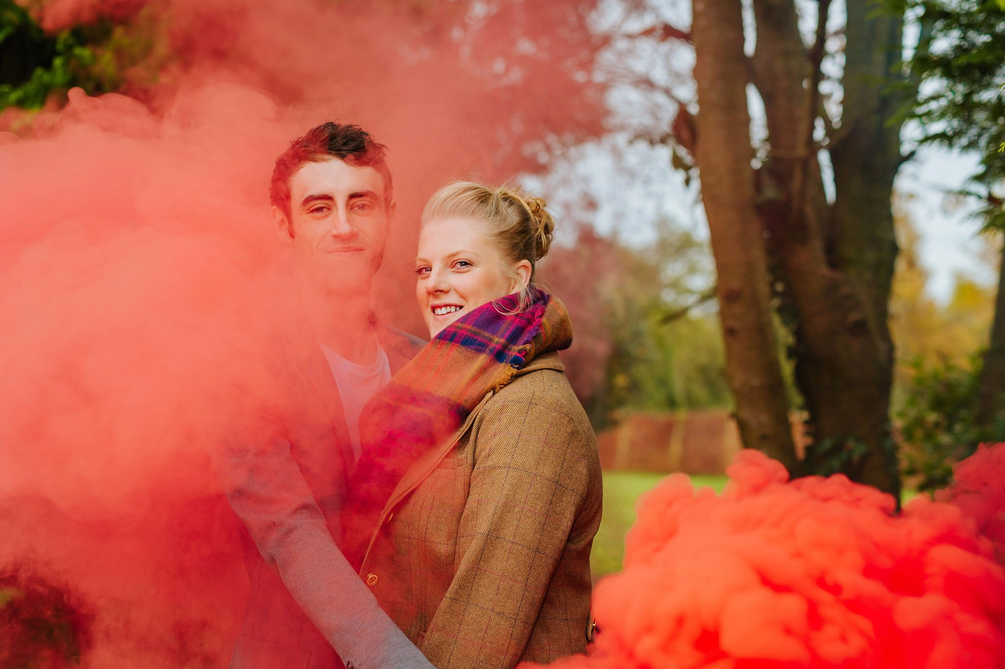 Becky + Marcus | Engagement session in Herefordshire 1