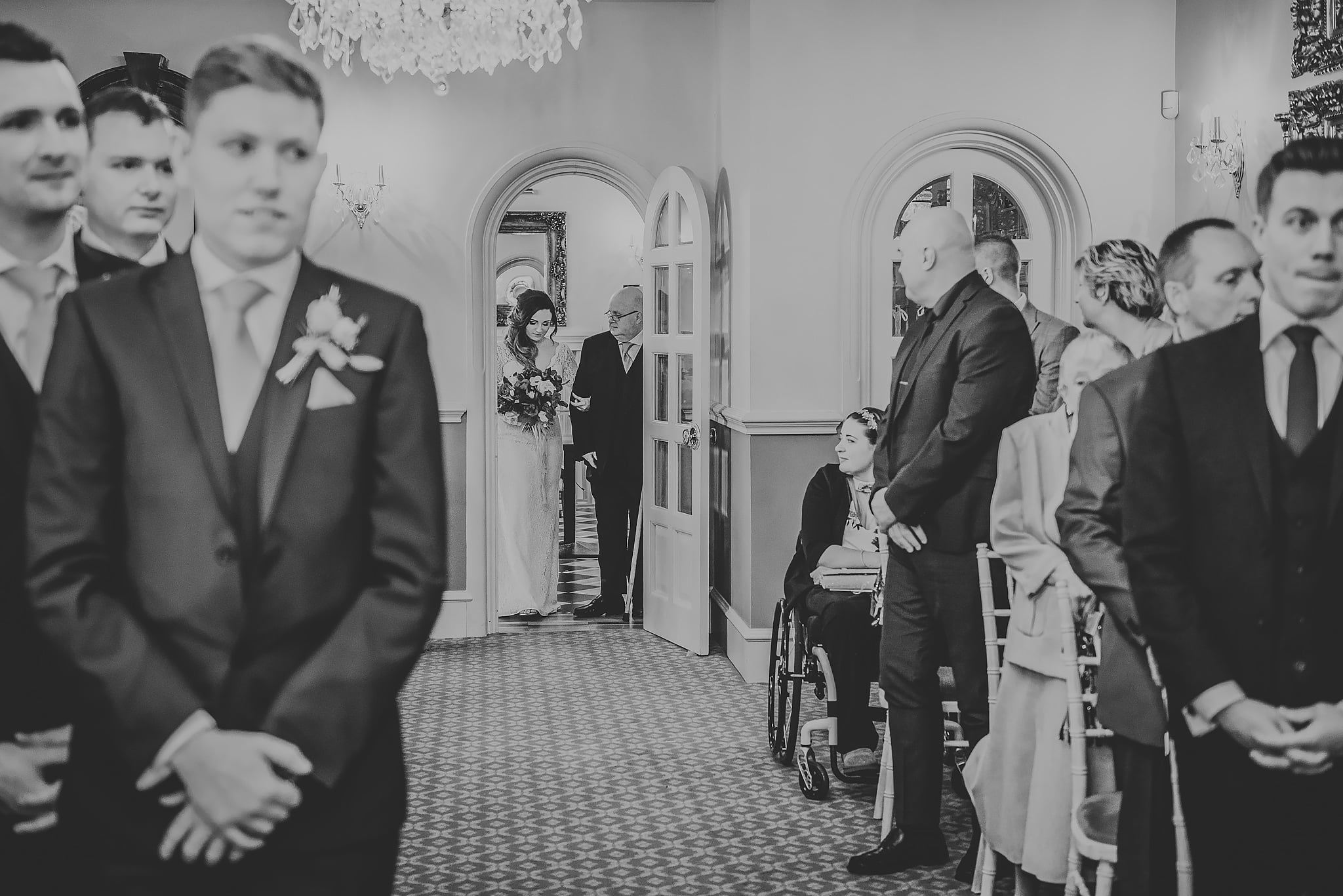 Weston Hall wedding photography, Staffordshire - Sarah + James 1