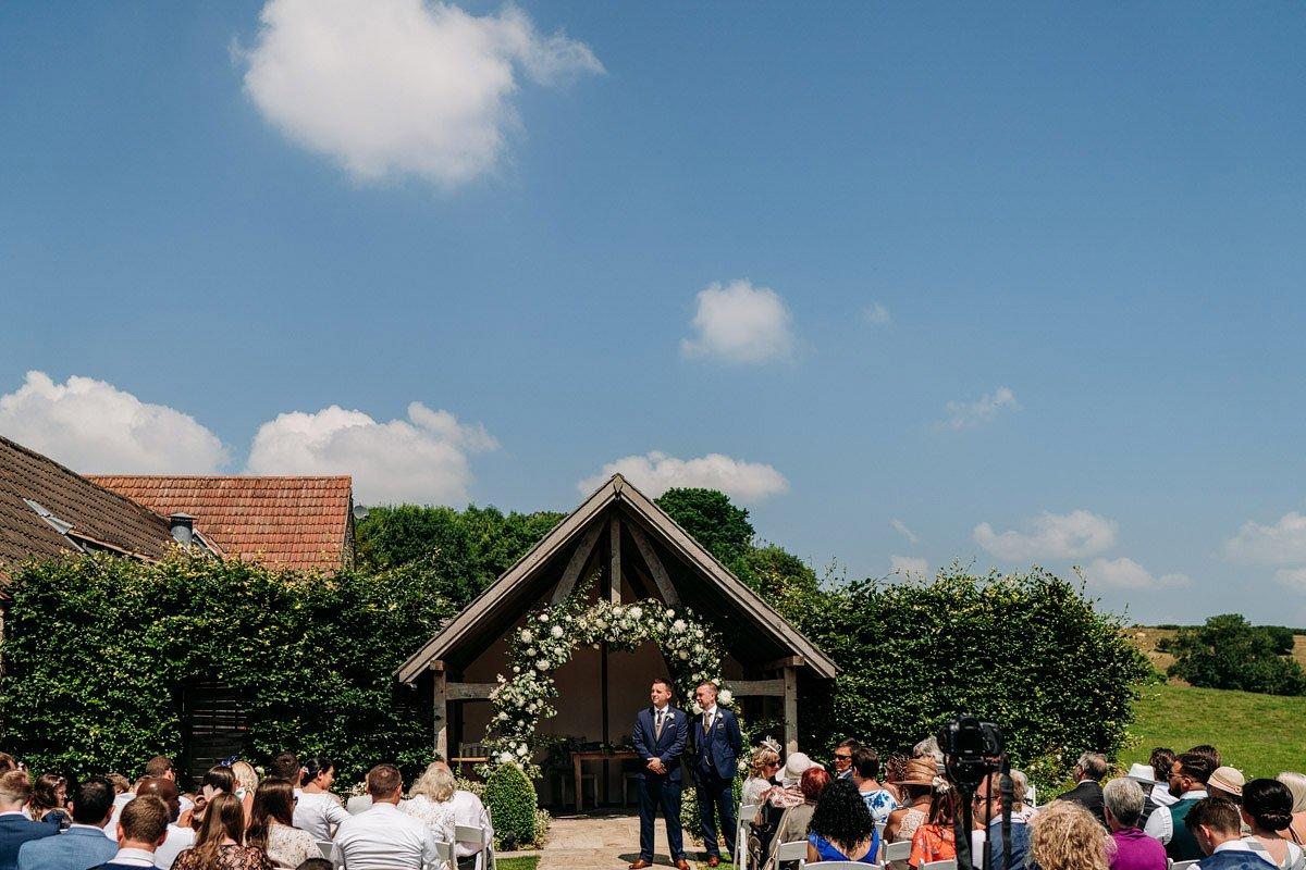 Kingscote Barn Wedding, Cotswolds 12
