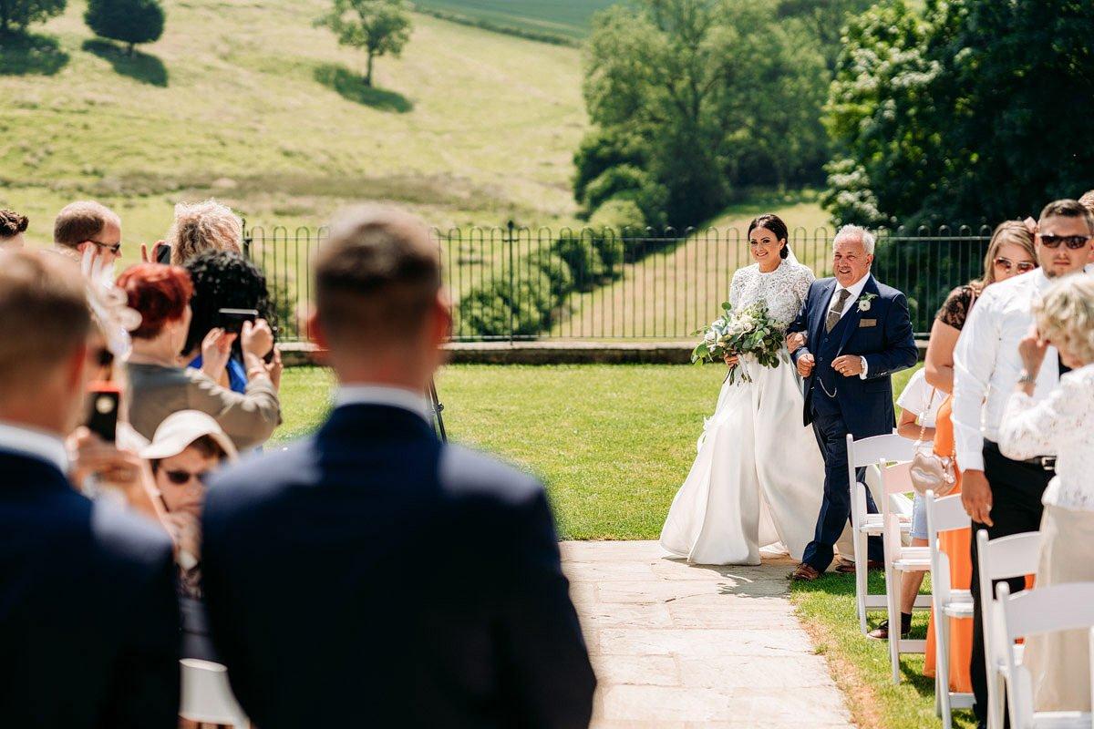 Kingscote Barn Wedding, Cotswolds 13
