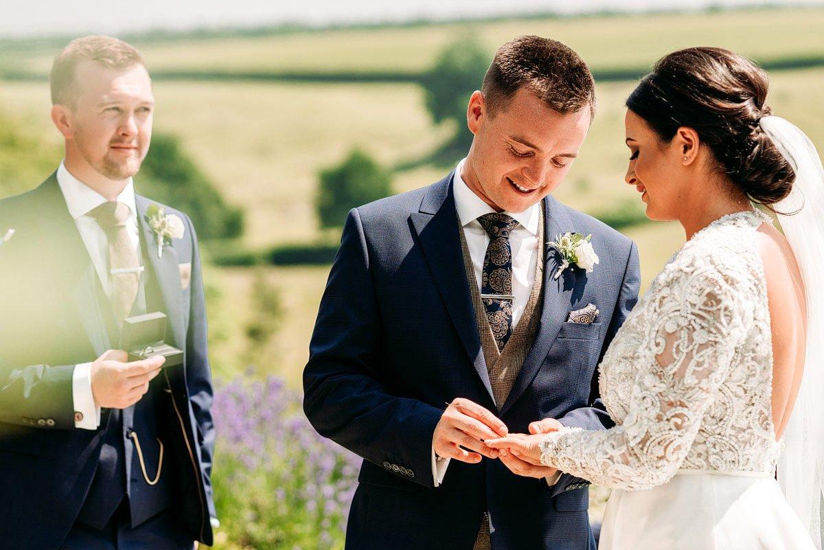 Kingscote Barn Wedding, Cotswolds 15